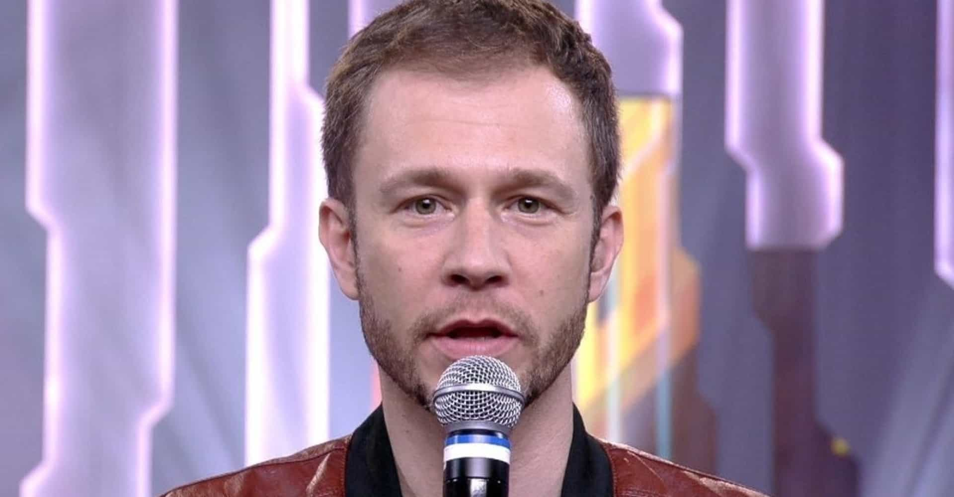 Tiago Leifert desiste de apresentar programa na Globo