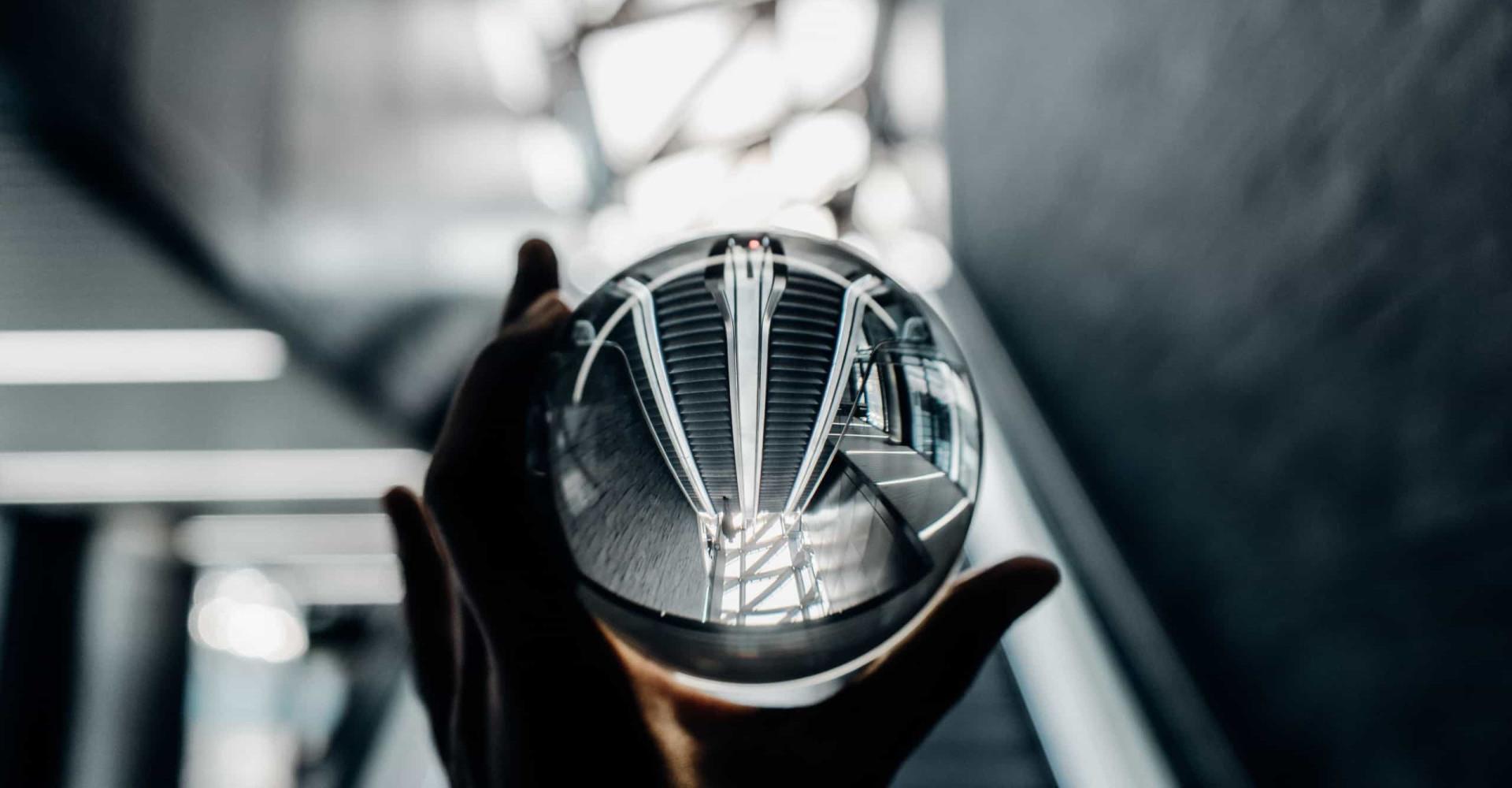 Weerspiegeld: opmerkelijke foto's van spiegelbeelden
