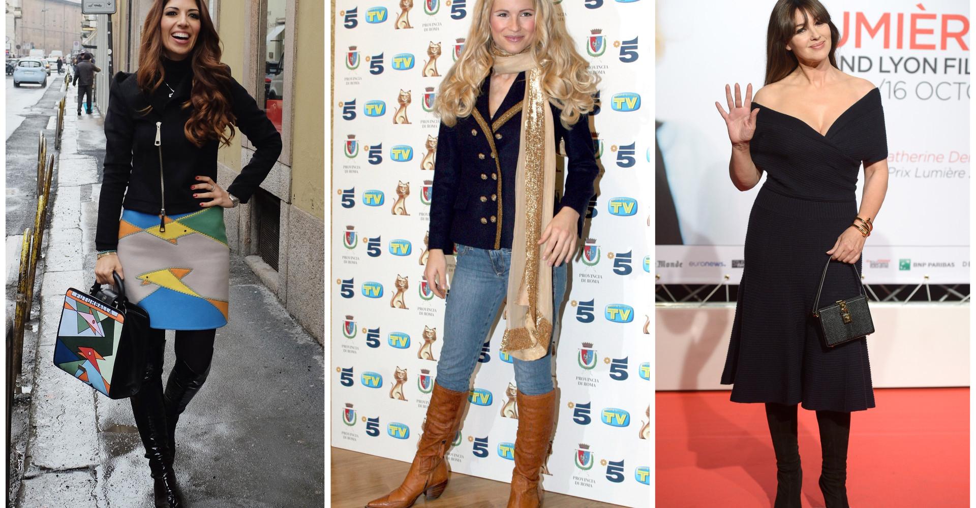 Moda inverno: gli stivali preferiti dalla Bellucci e Beyoncé
