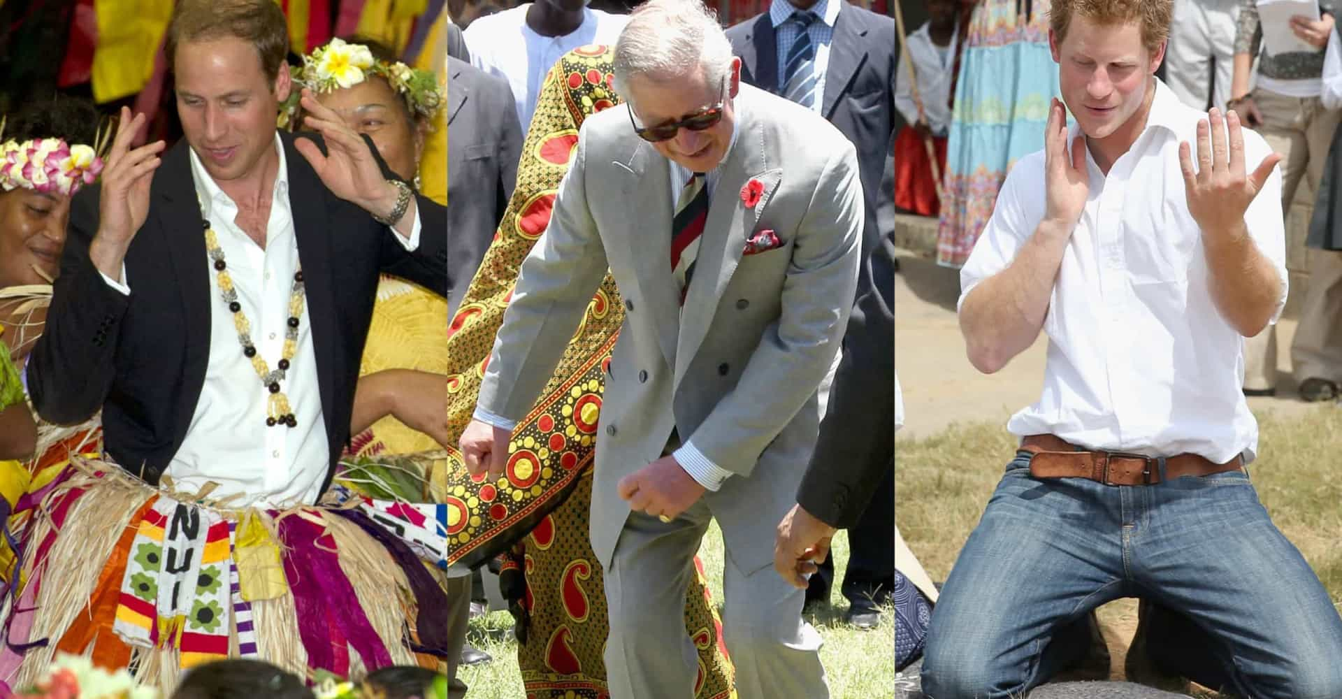 Hilarious photos of royals getting their groove on