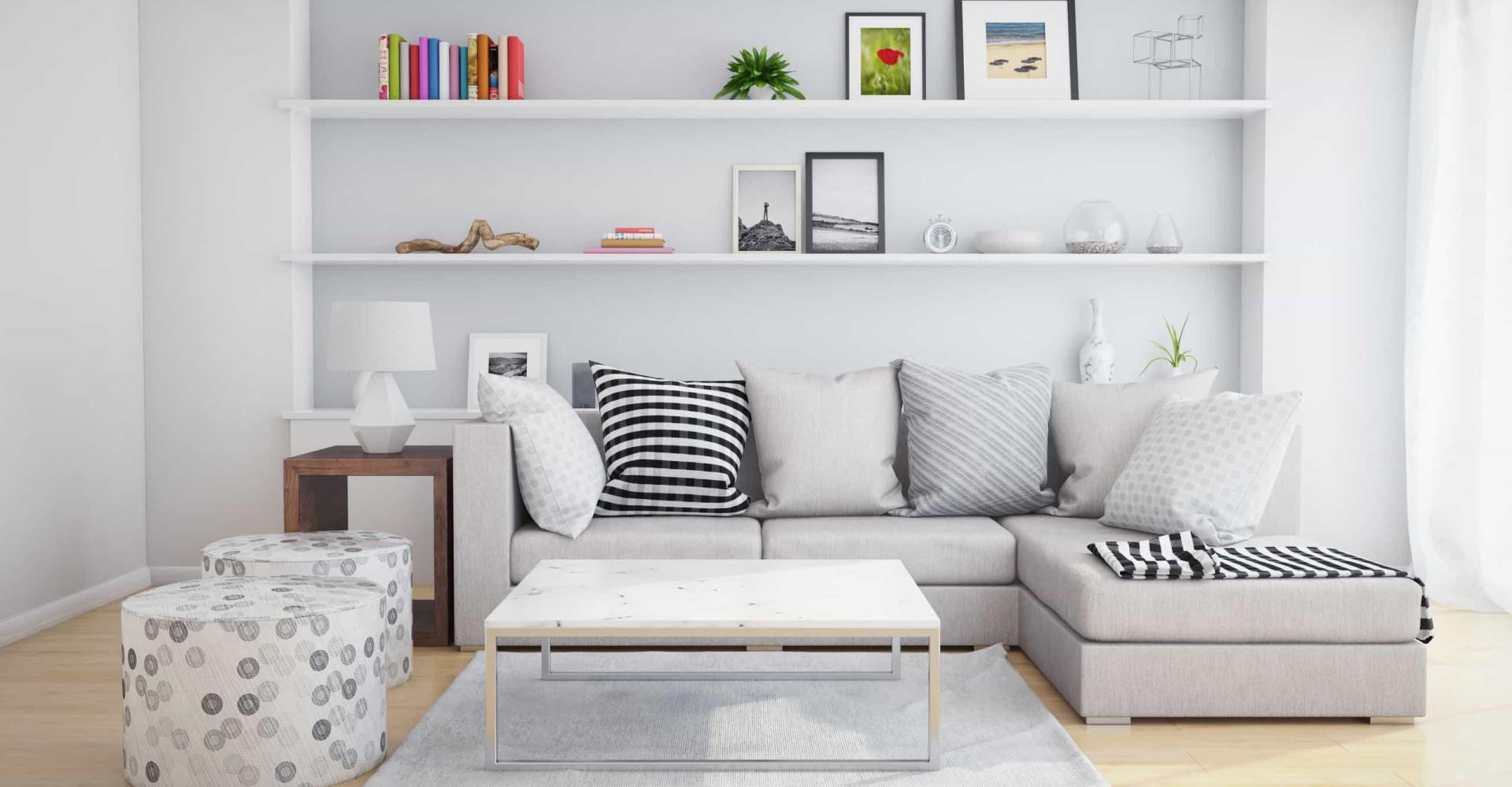 Ahorrando espacio: cómo construir estanterías útiles y elegantes