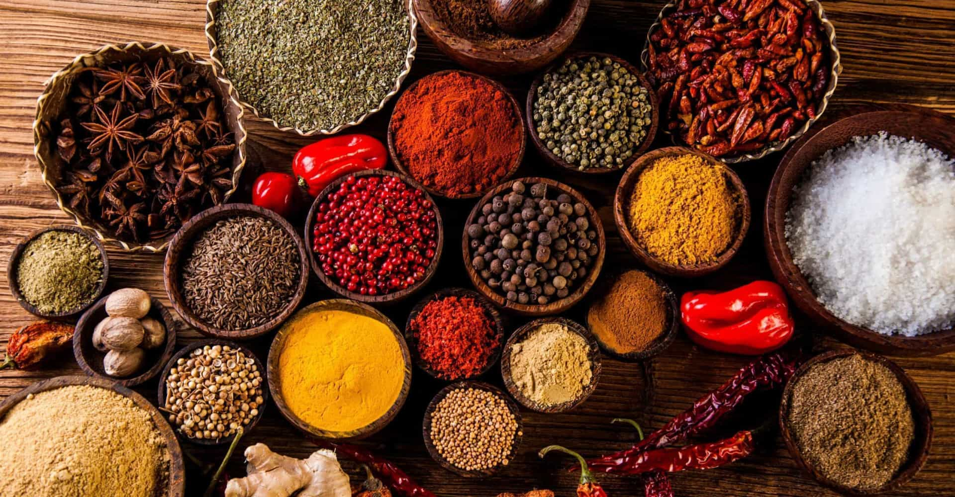 Exotic spices and how to cook with them