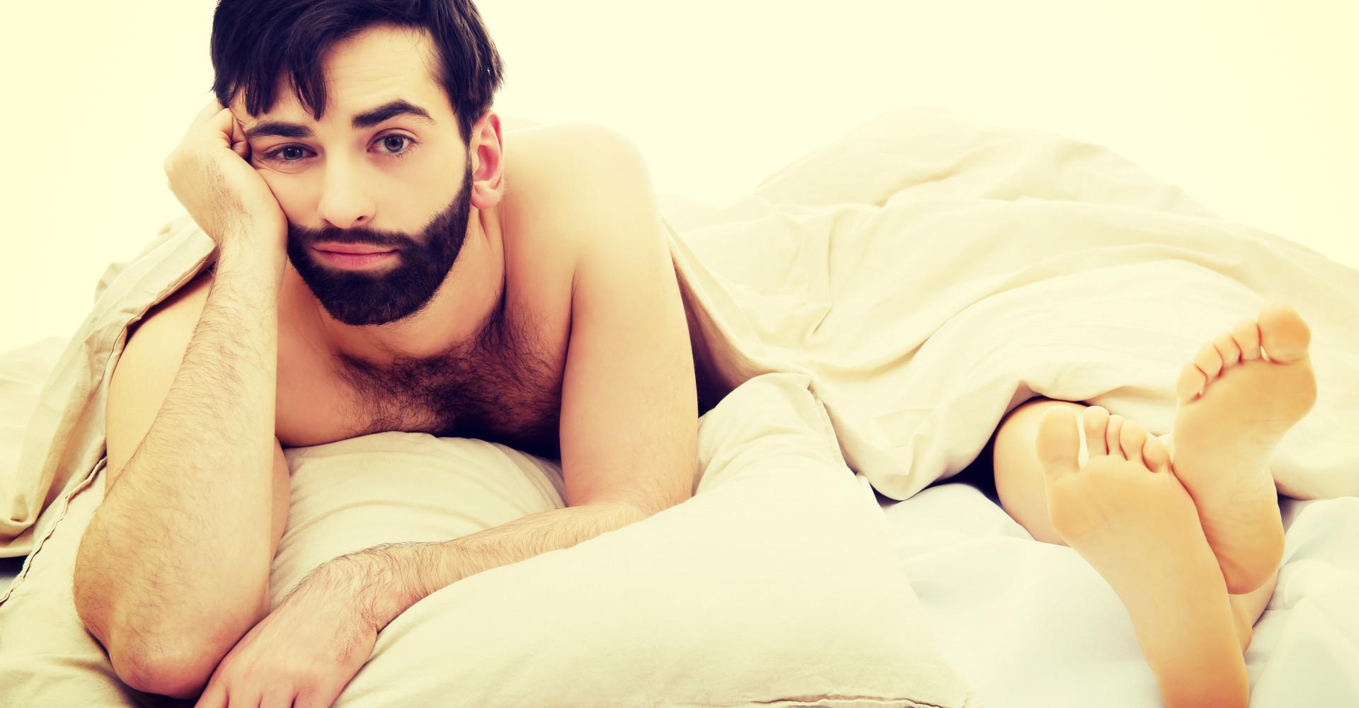 Ook mannen hebben 'after seks-dip'
