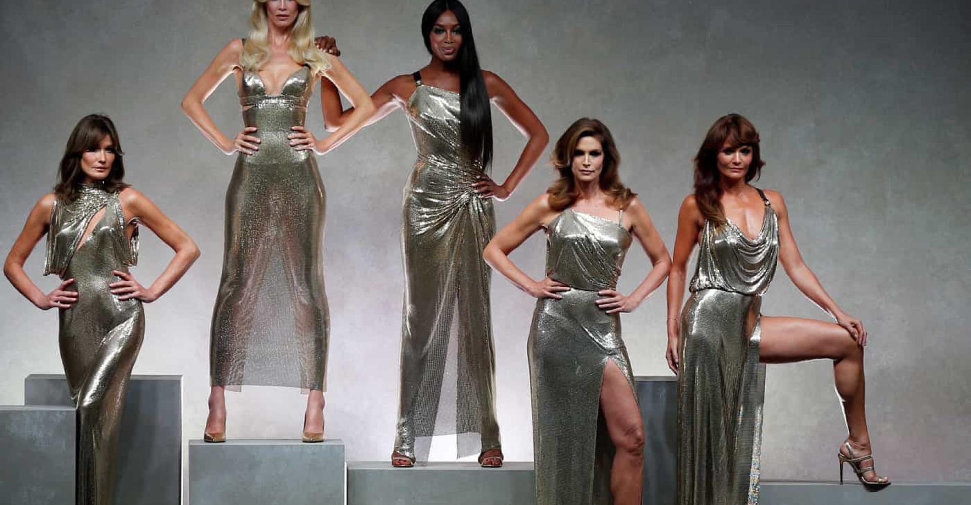 3fc0fdf915079 Le muse di Gianni Versace  ecco chi erano le sue modelle preferite