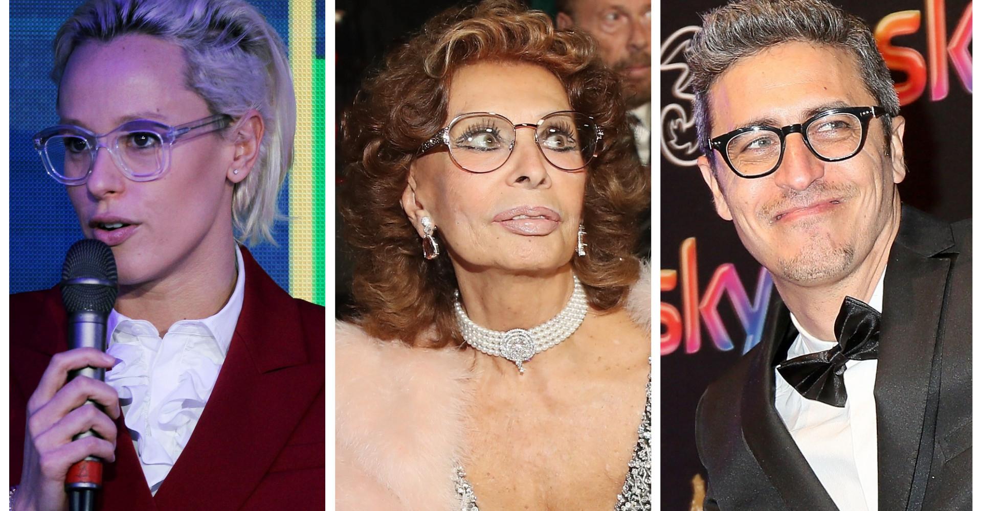 Da Pif a Brad Pitt:  i VIP con gli occhiali più sexy che mai