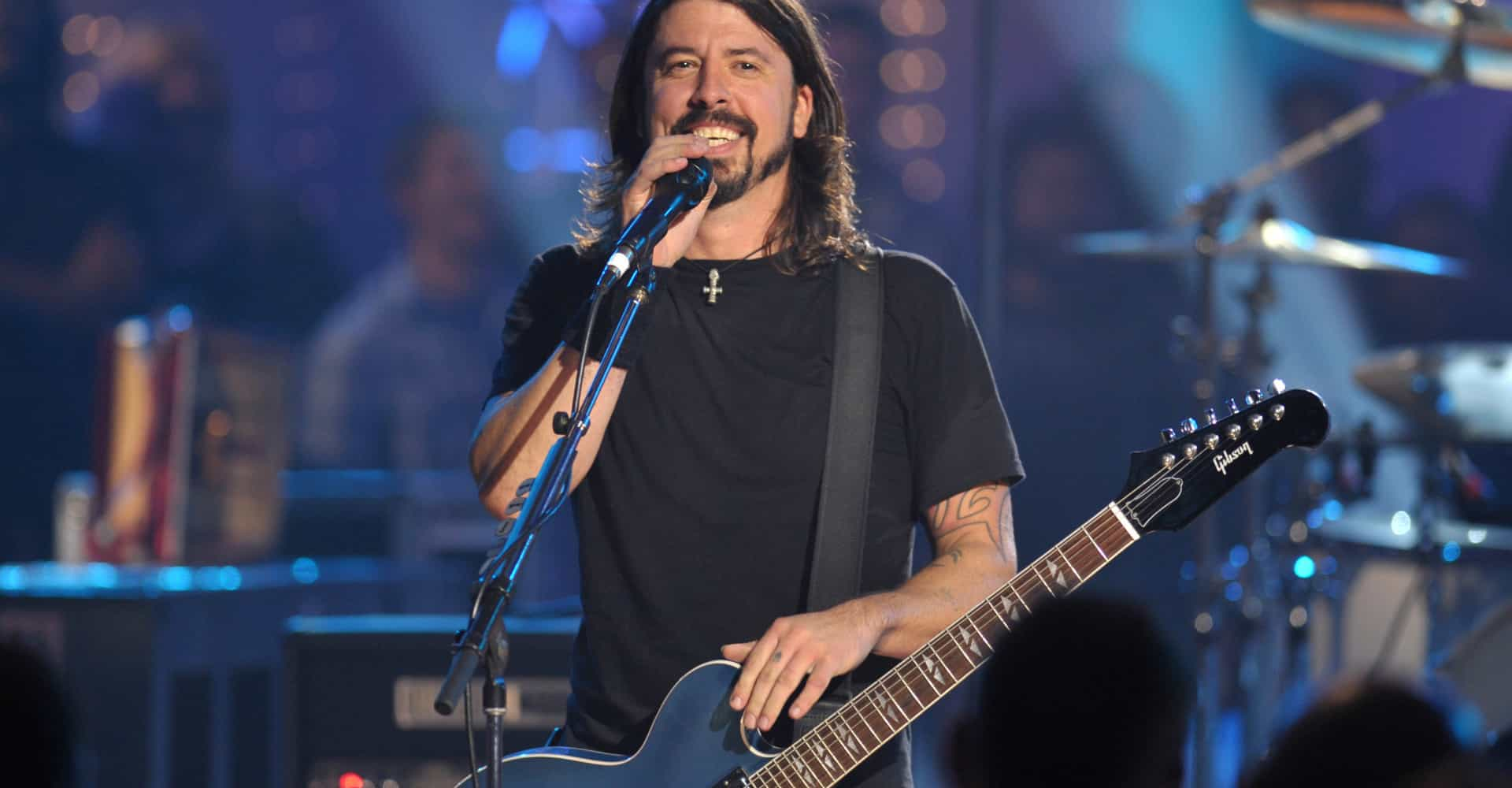 WATCH: Dave Grohl delivers severed head to Jimmy Kimmel