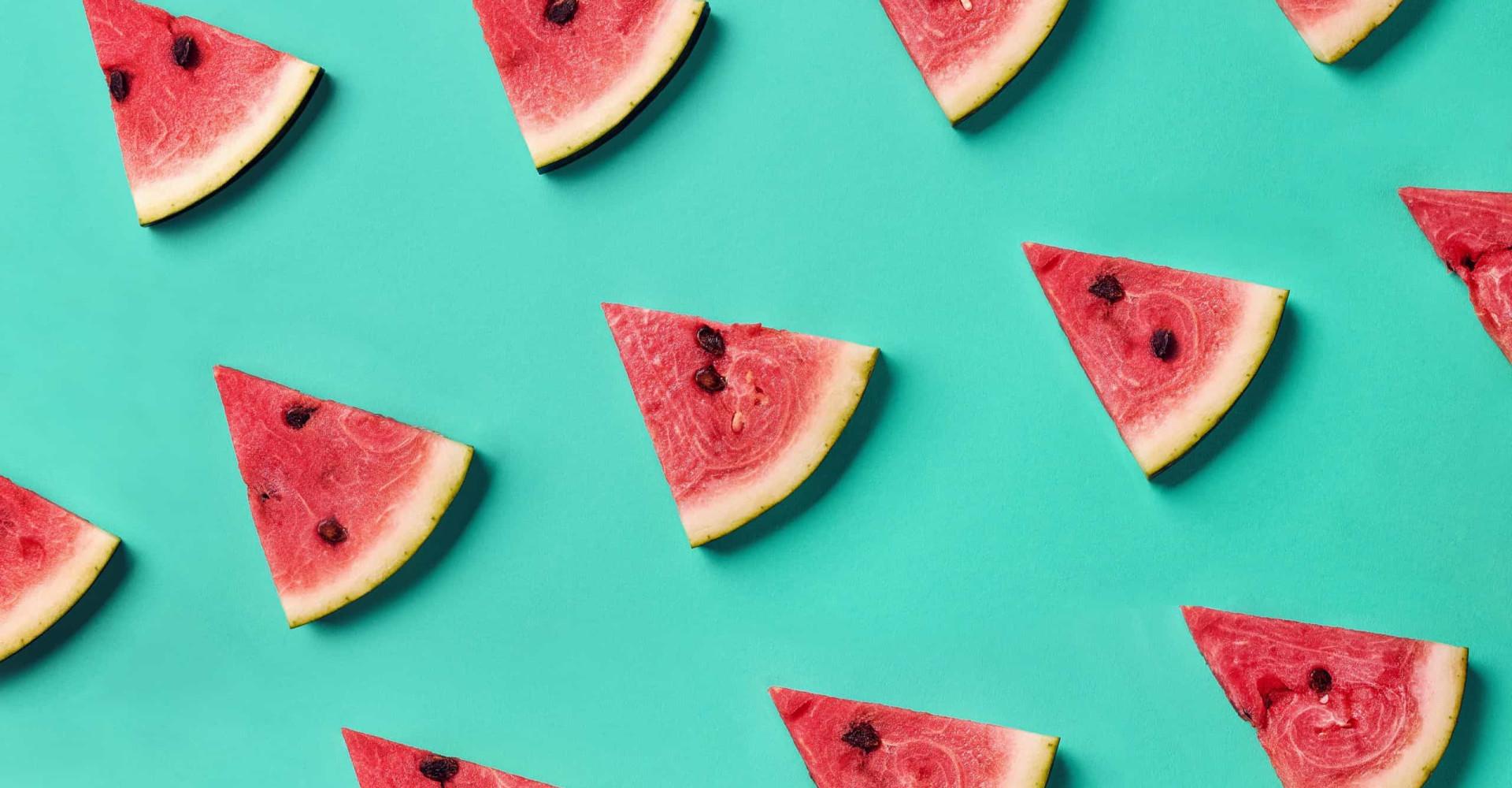 Zo snijd je perfecte watermeloenpartjes zonder mes