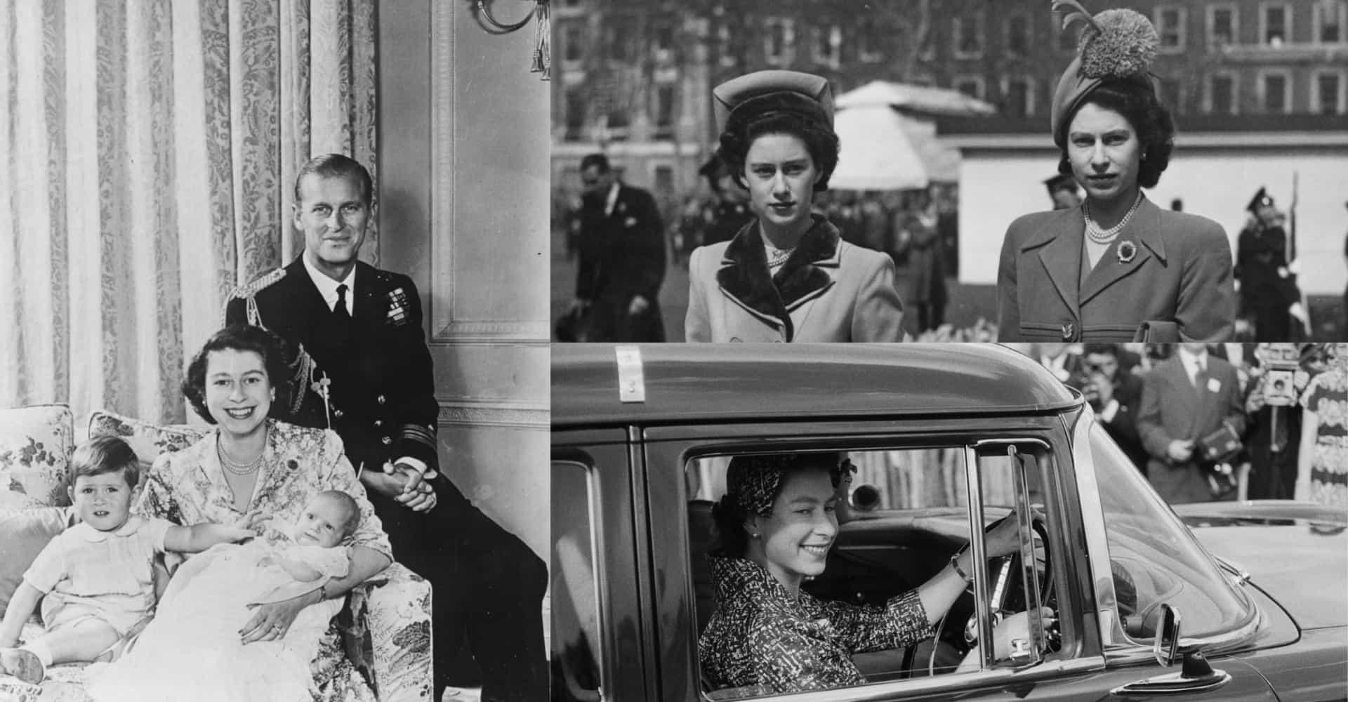Kiehtovat kuvat nuoresta kuningatar Elisabetista
