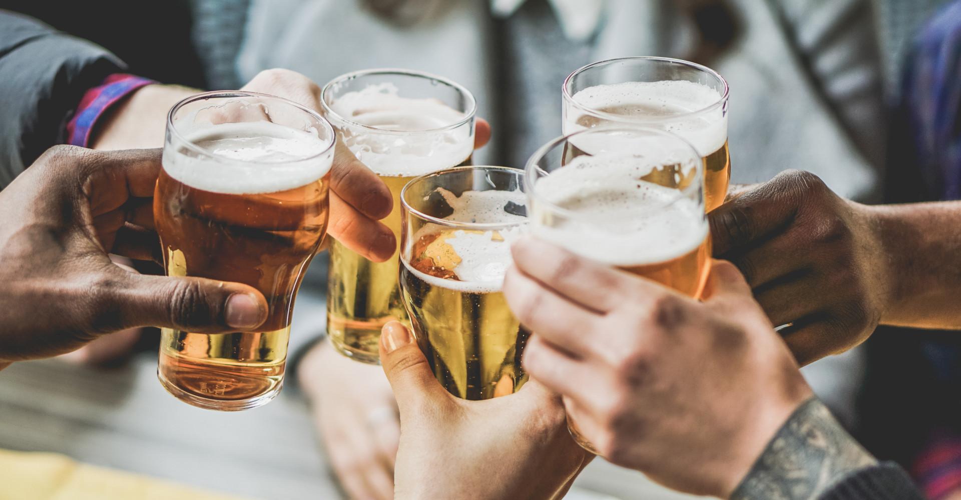 Lichte paniek: het bier raakt op!