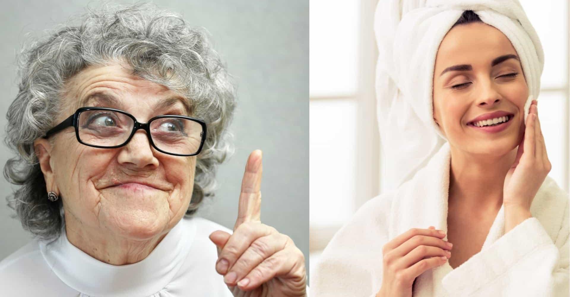 Perfette e al naturale: i segreti di bellezza della nonna