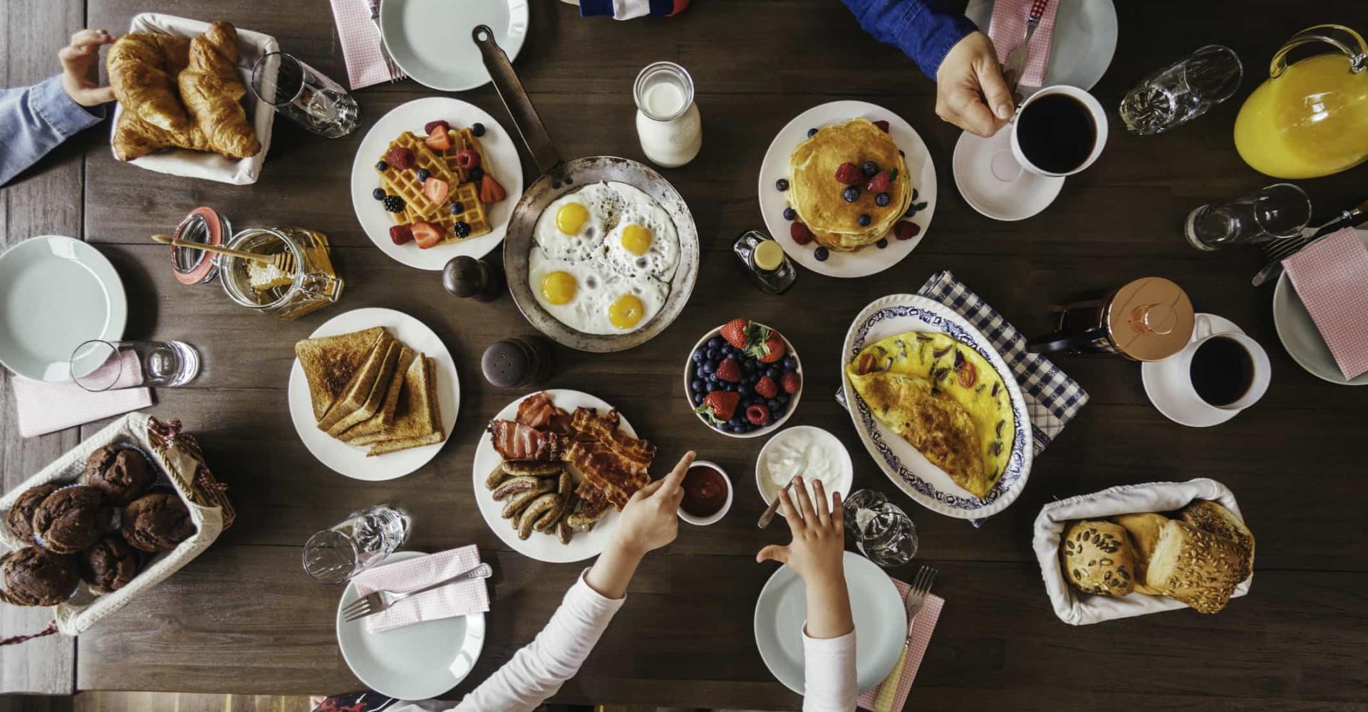 전 세계의 다양한 전통 아침식사 30