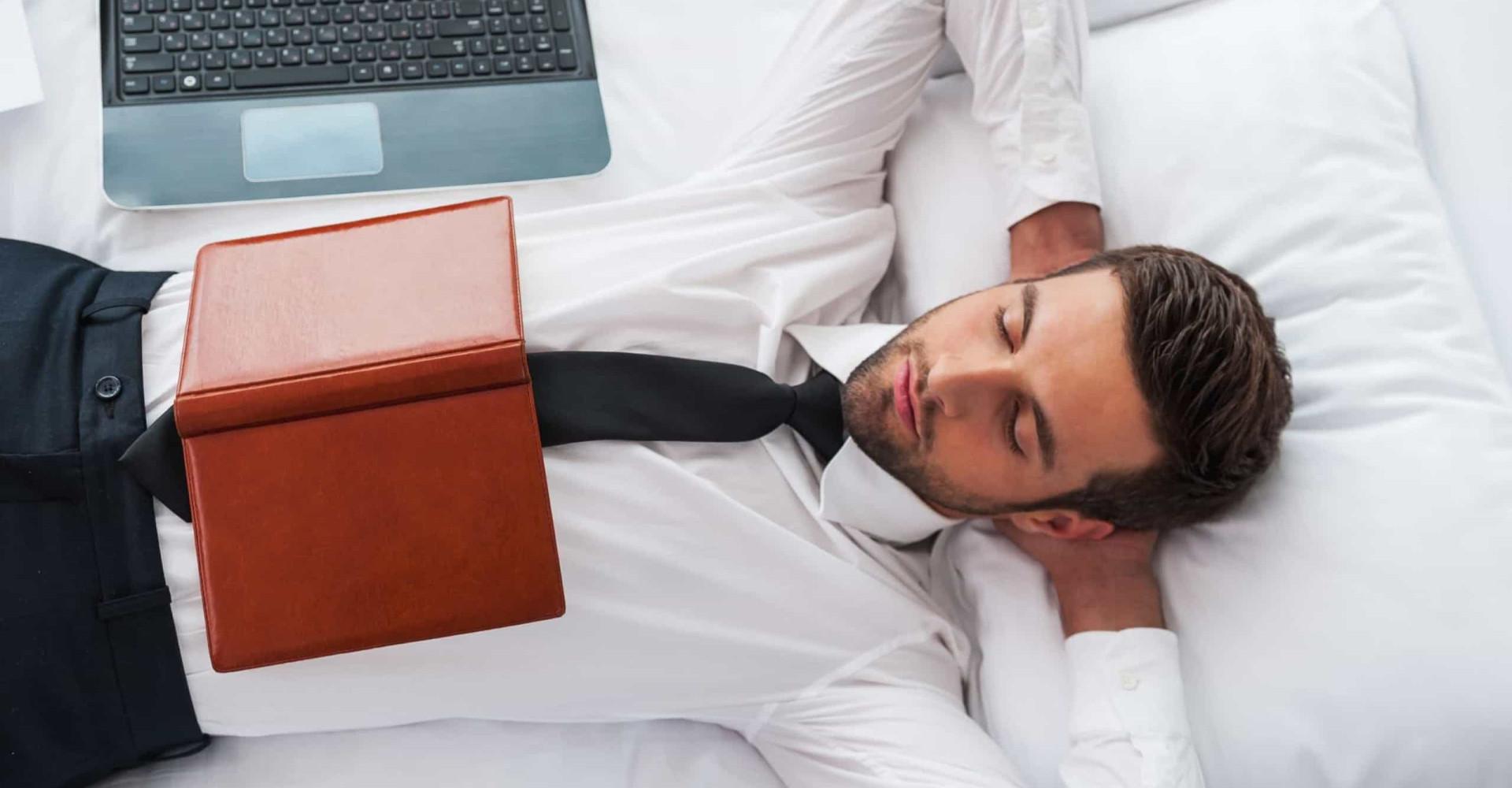 Dit doen succesvolle mensen vlak voordat ze slapen