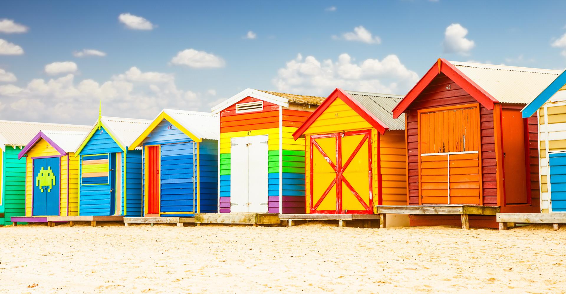 Australia's most colourful places