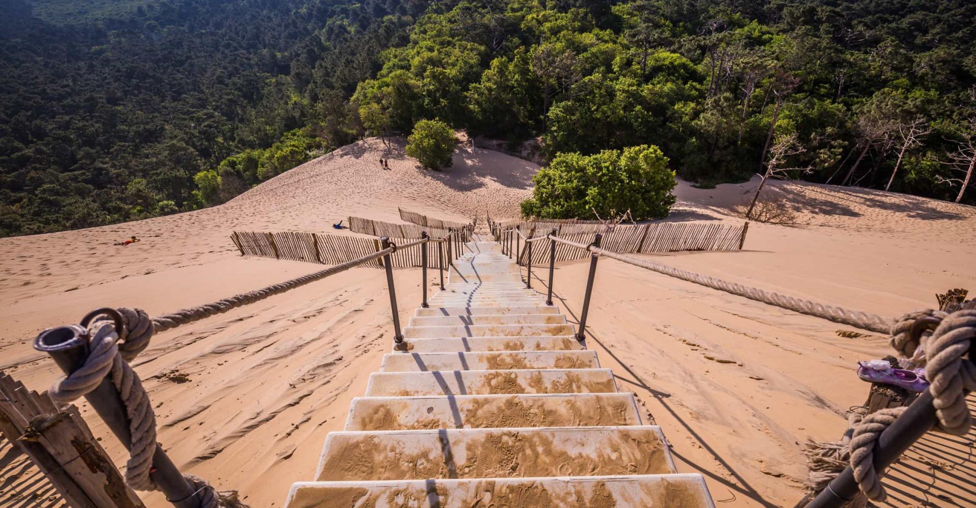 La dune du Pilat, l'admirable géant de sable