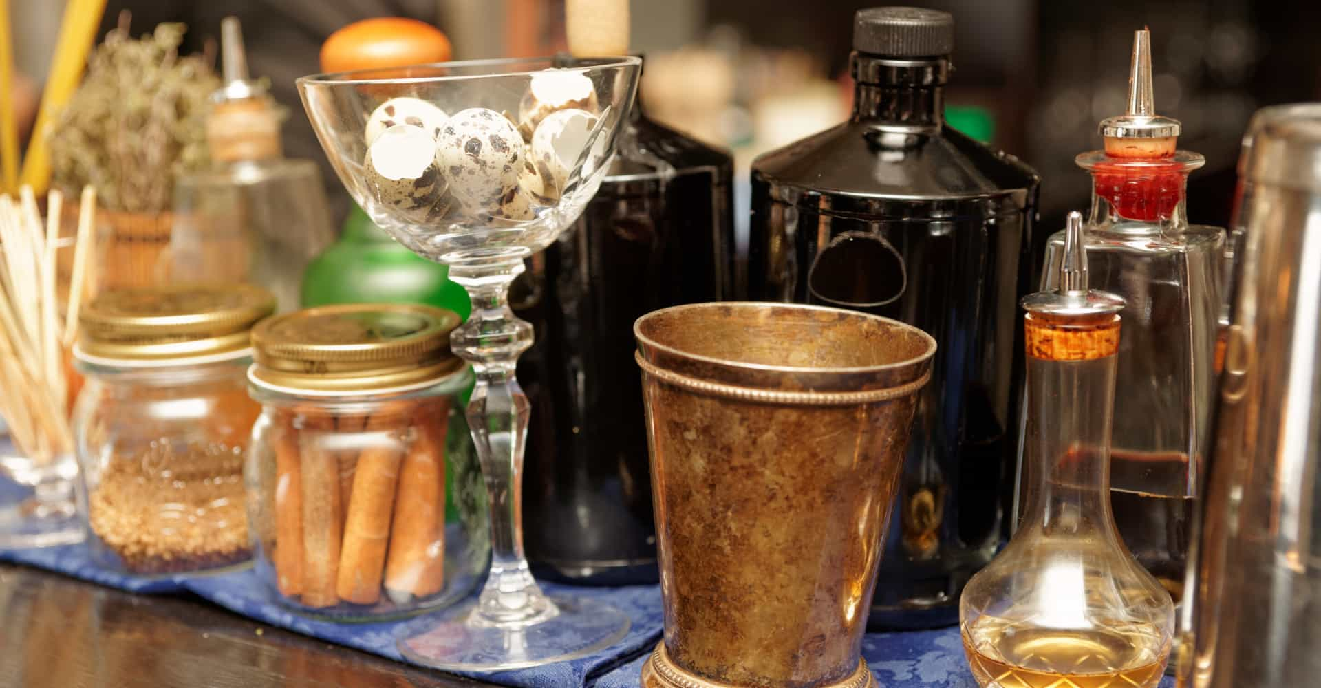 4 unieke infusions voor in je cocktail