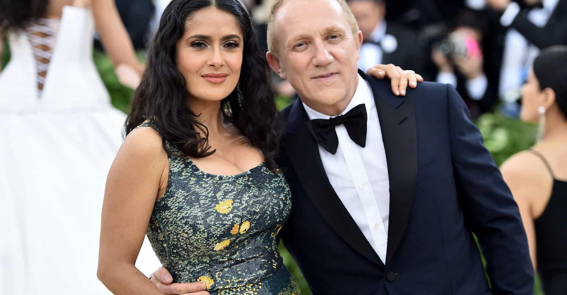 Salma Hayek et François-Henri Pinault, un couple puissant et discret