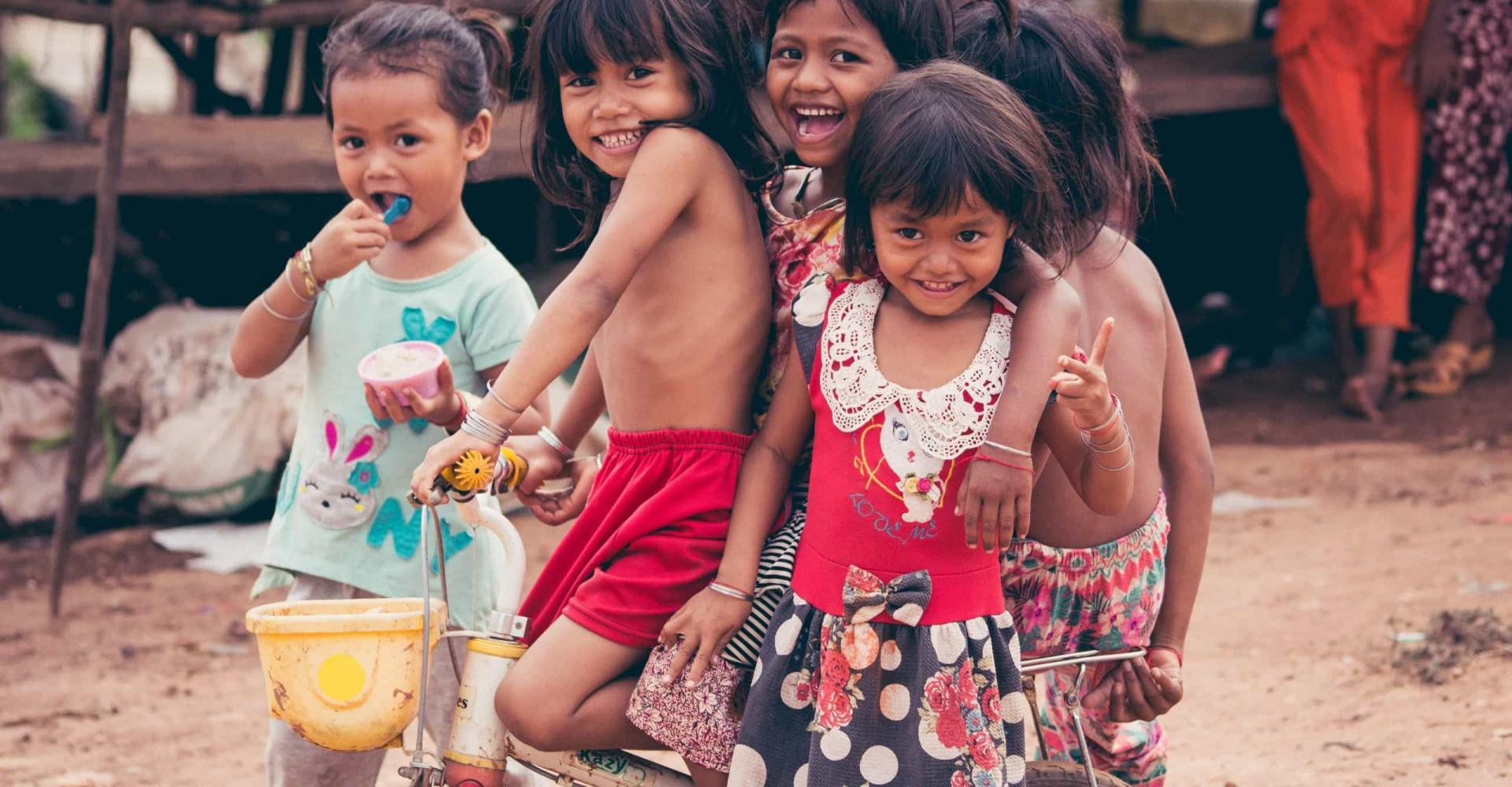 Meravigliosi ritratti di bambini da ogni parte del mondo