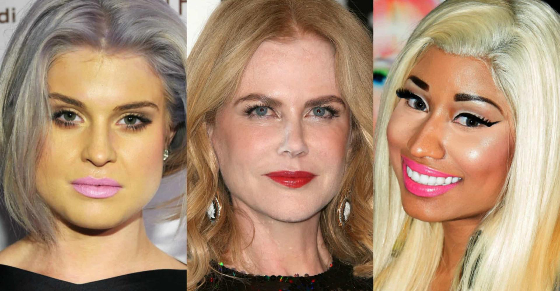 Opa, essas famosas erraram na maquiagem!
