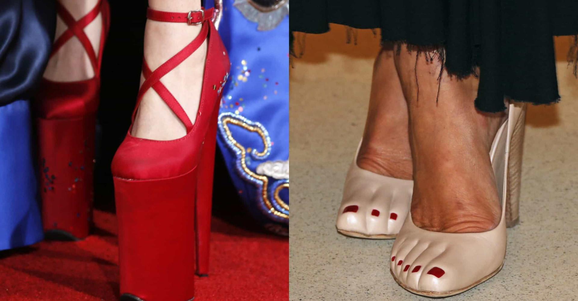Teste: adivinhe quem são essas estrelas pelos calçados!