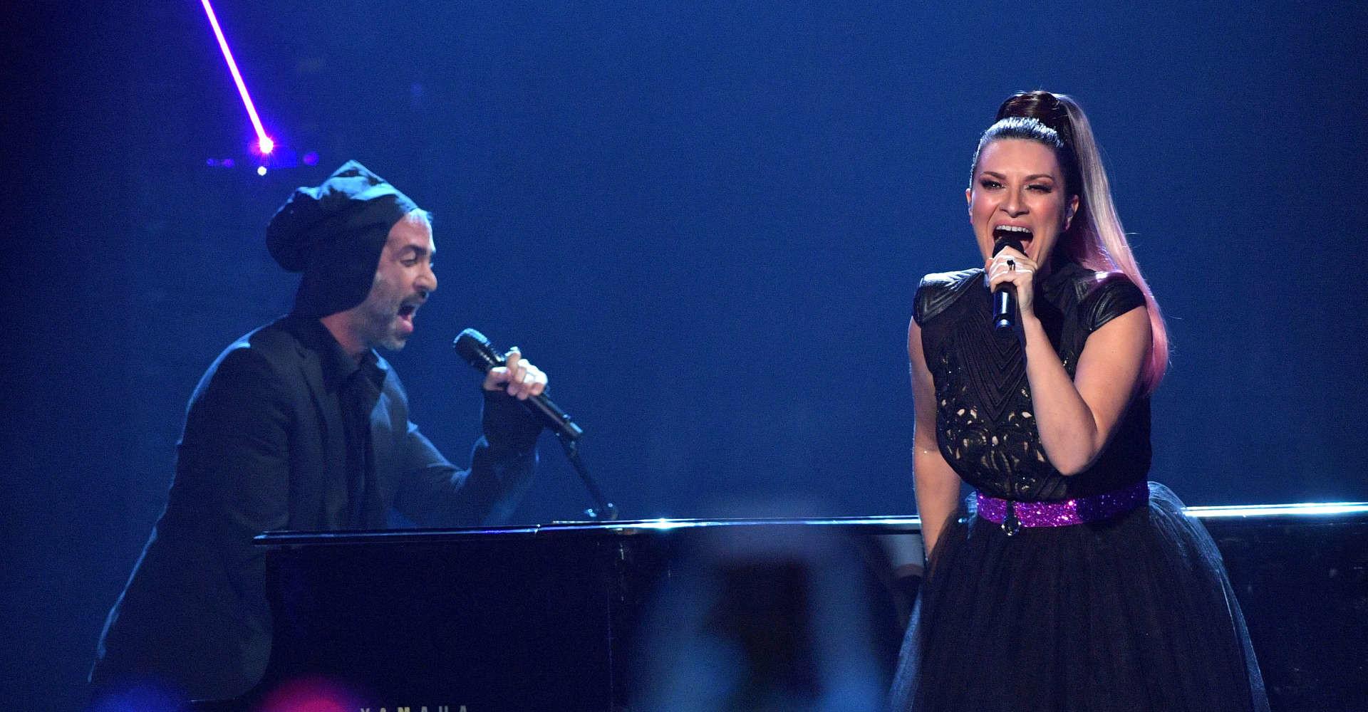 A chi si rivolgeva Laura Pausini con quella parolaccia sul palco?
