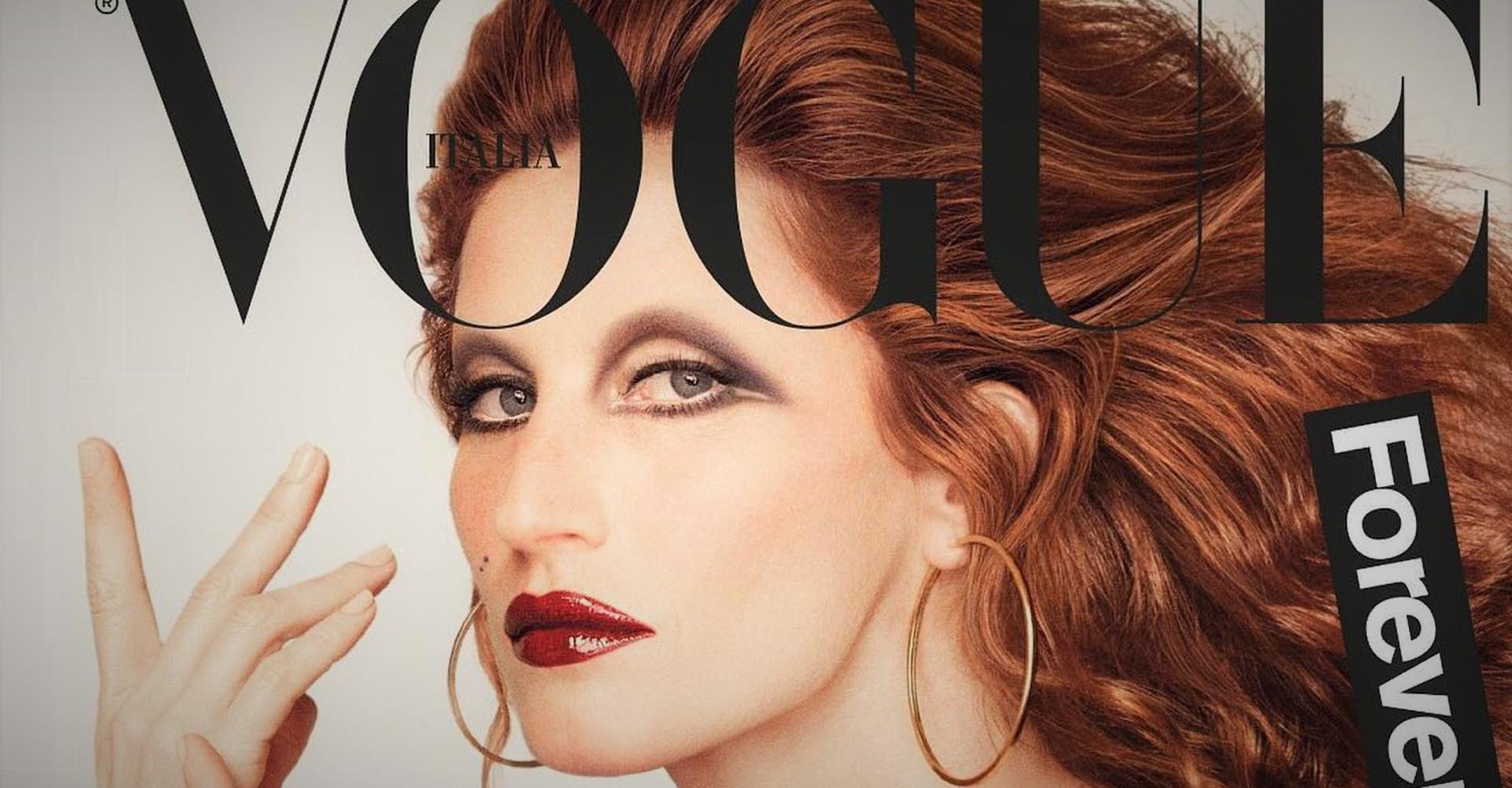 Gisele Bündchen surge irreconhecível na capa da Vogue