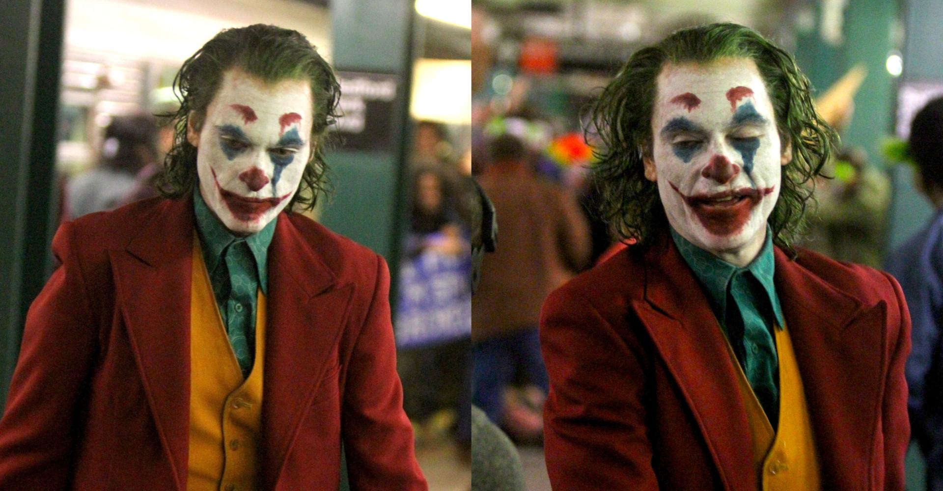 Joaquin Phoenix terrorizes NYC subway as the 'Joker'