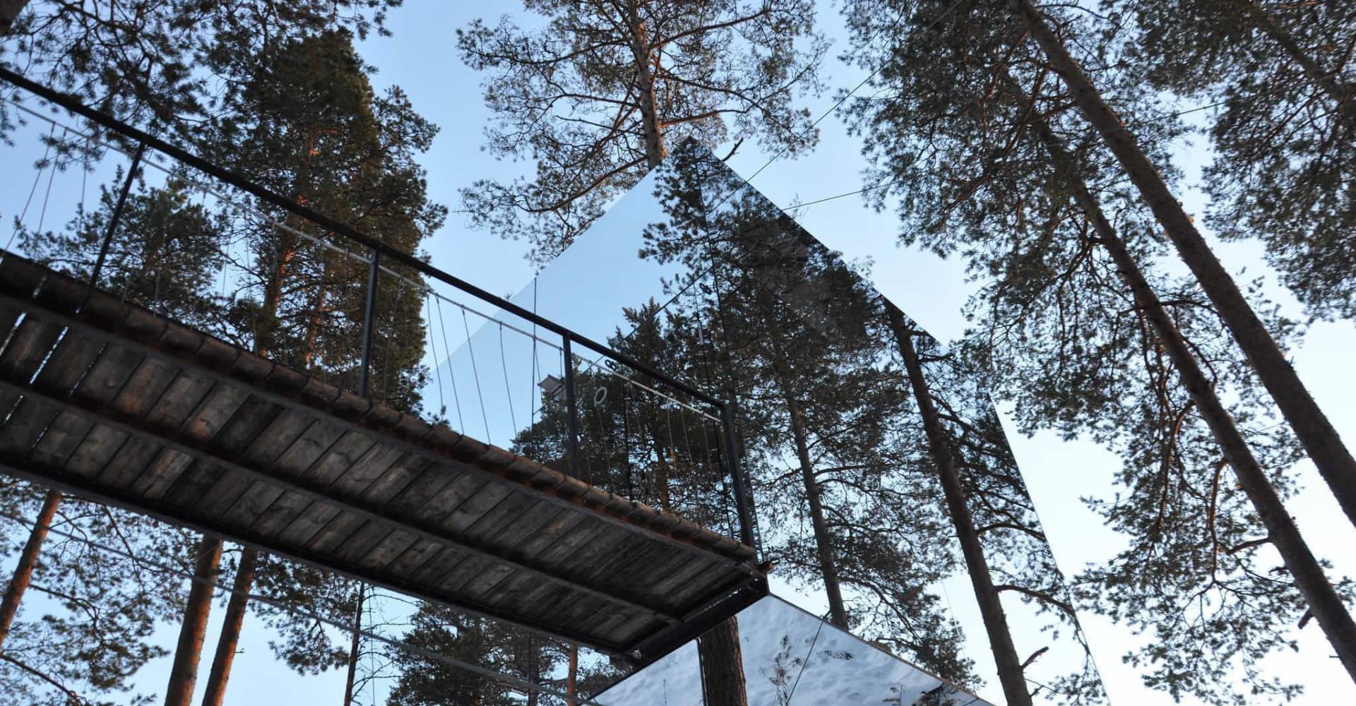 Les plus fantastiques cabanes dans les arbres