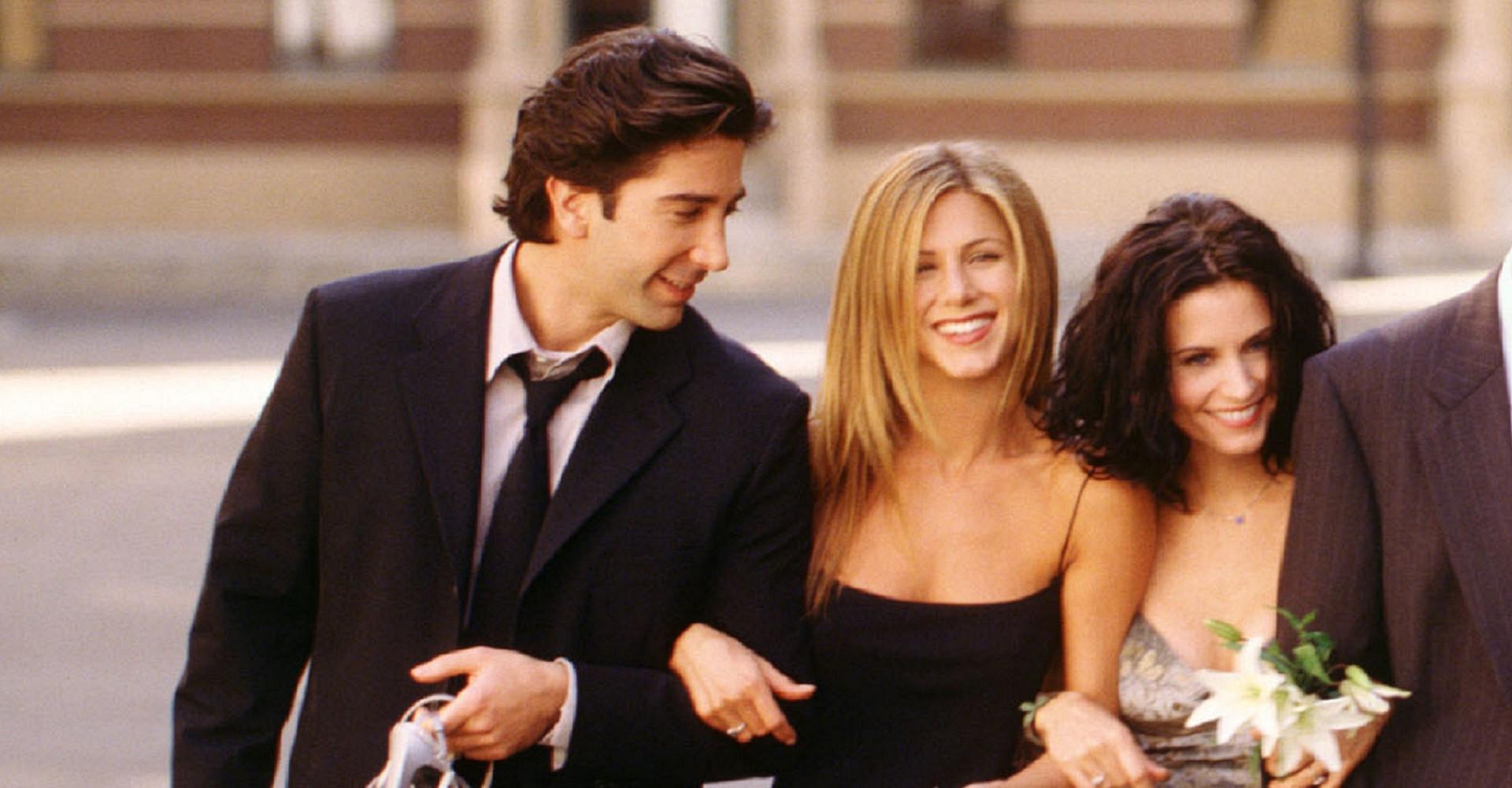 Friends-maker onthult het verhaal achter de Ross en Rachel 'break'