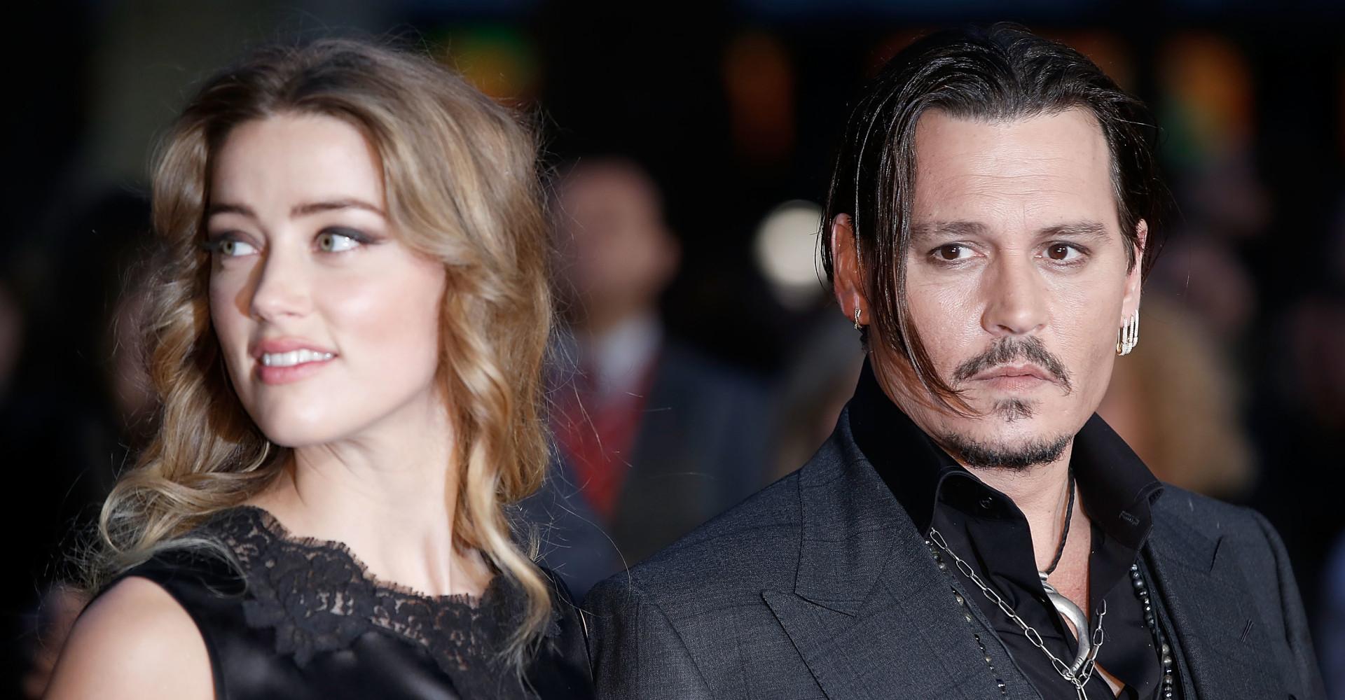 Johnny Depp publicly denies abusing ex-wife Amber Heard