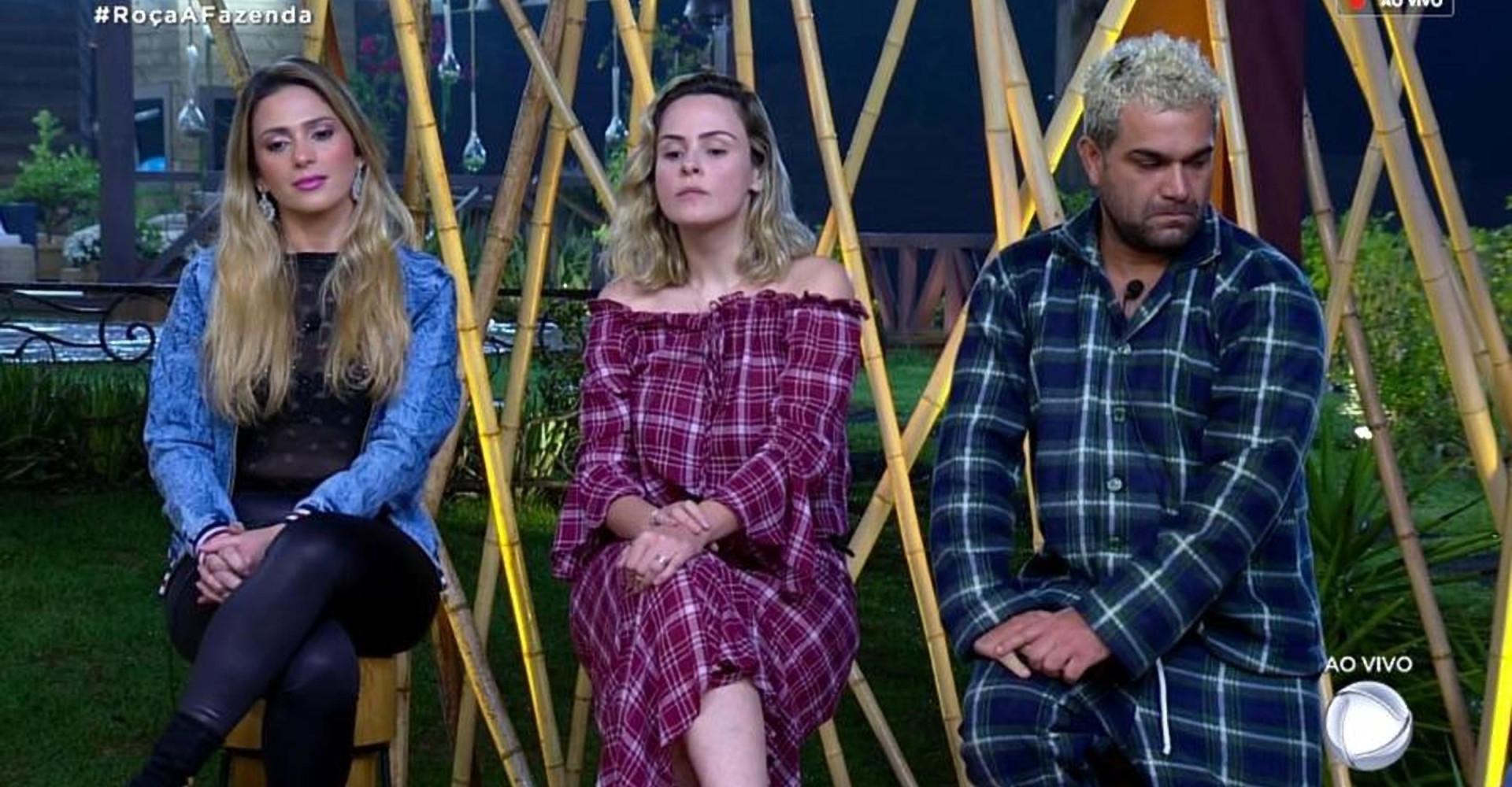 A Fazenda: Nadja Pessoa, Ana Paula Renault e Evandro Santo estão na roça