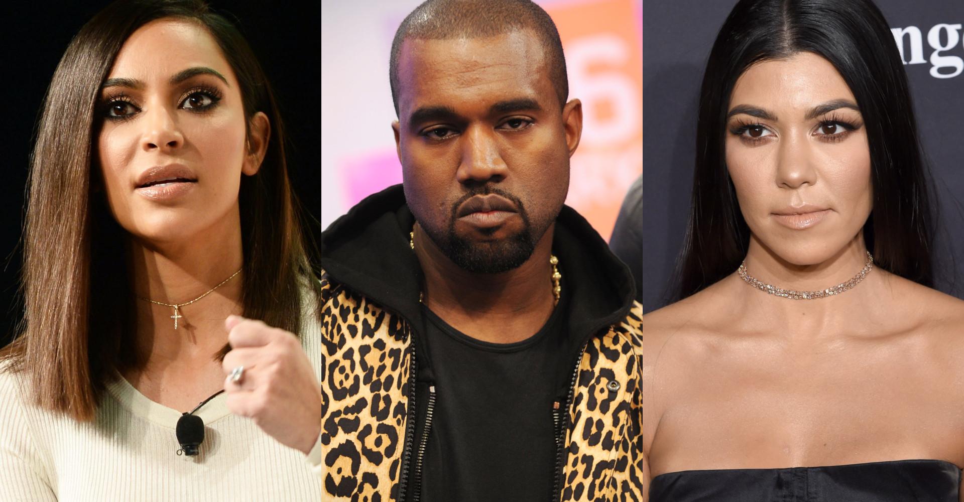 Kourtney Kardashian blasts Kanye's Yeezy designs in the most hilarious way