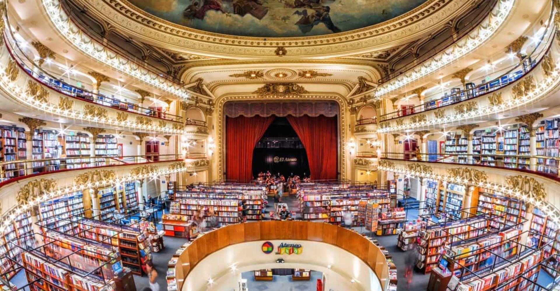 De vakreste bibliotekene i verden