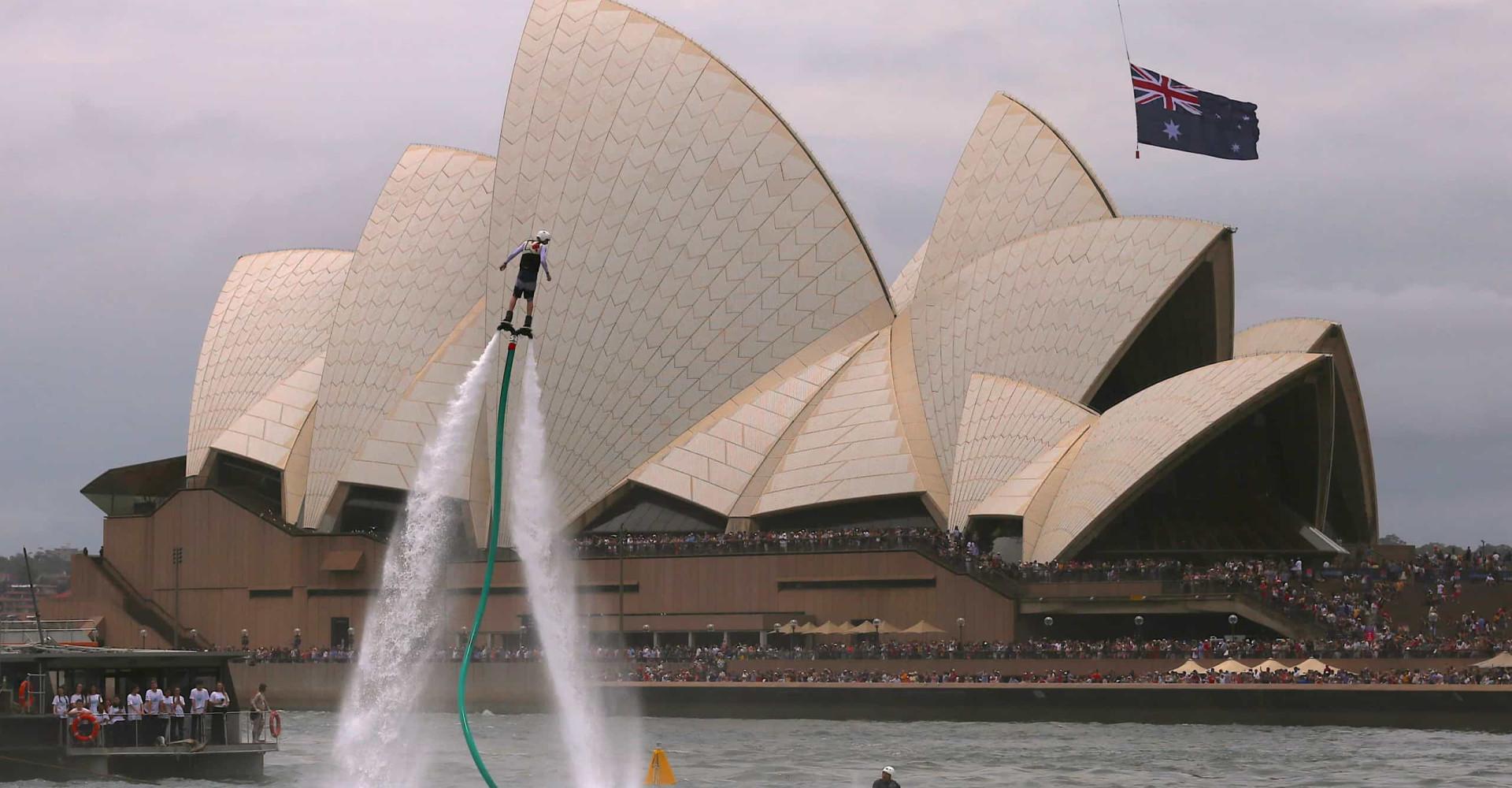 Adrenaline junkies unite! Extreme sports down under