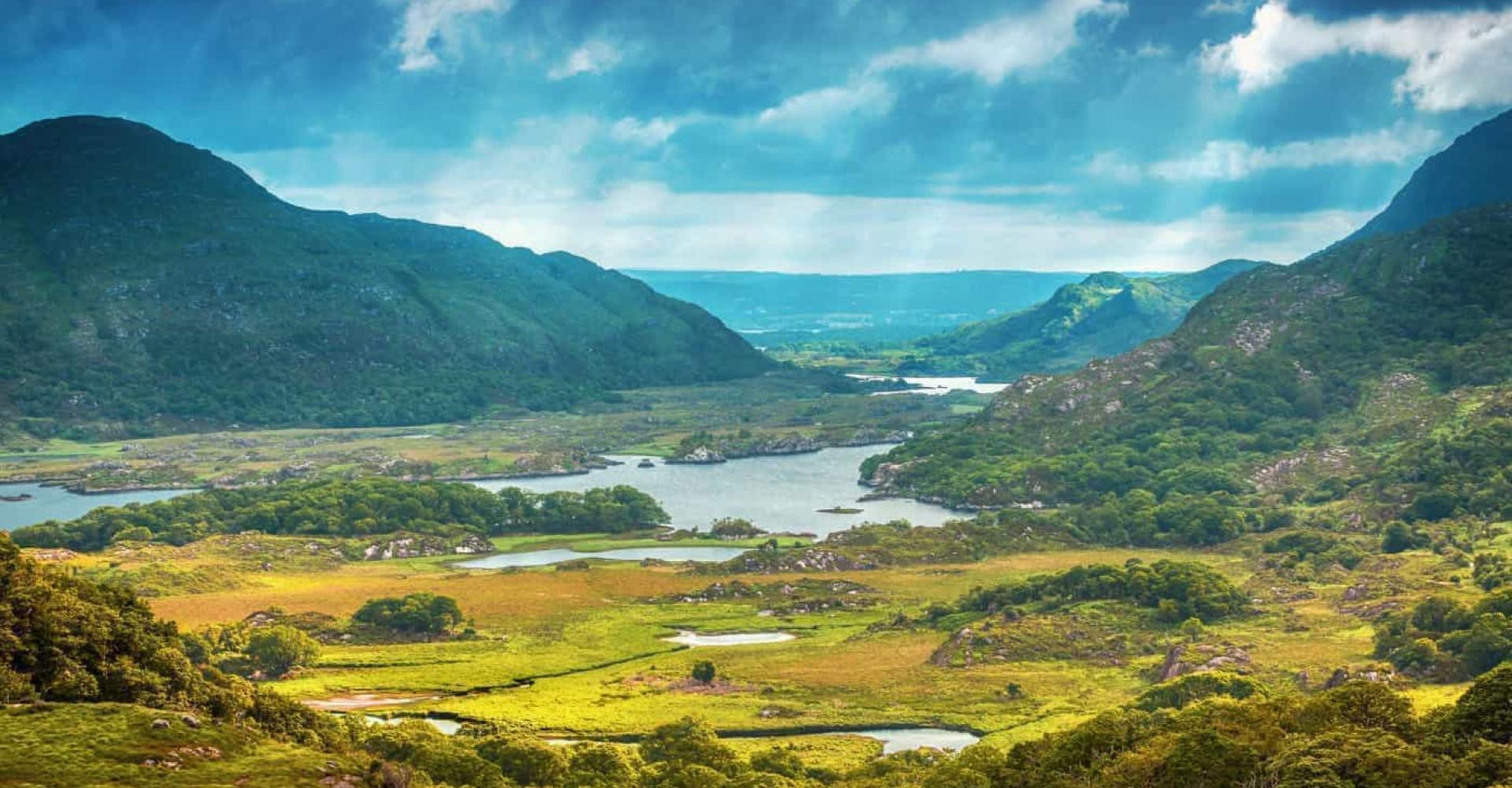 Tutustu Irlantiin, Vihreään saareen