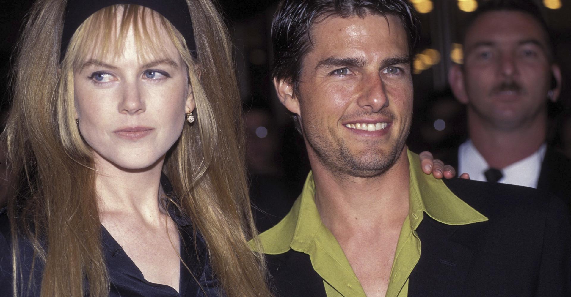 Nicole Kidman reveals she married Tom Cruise for protection