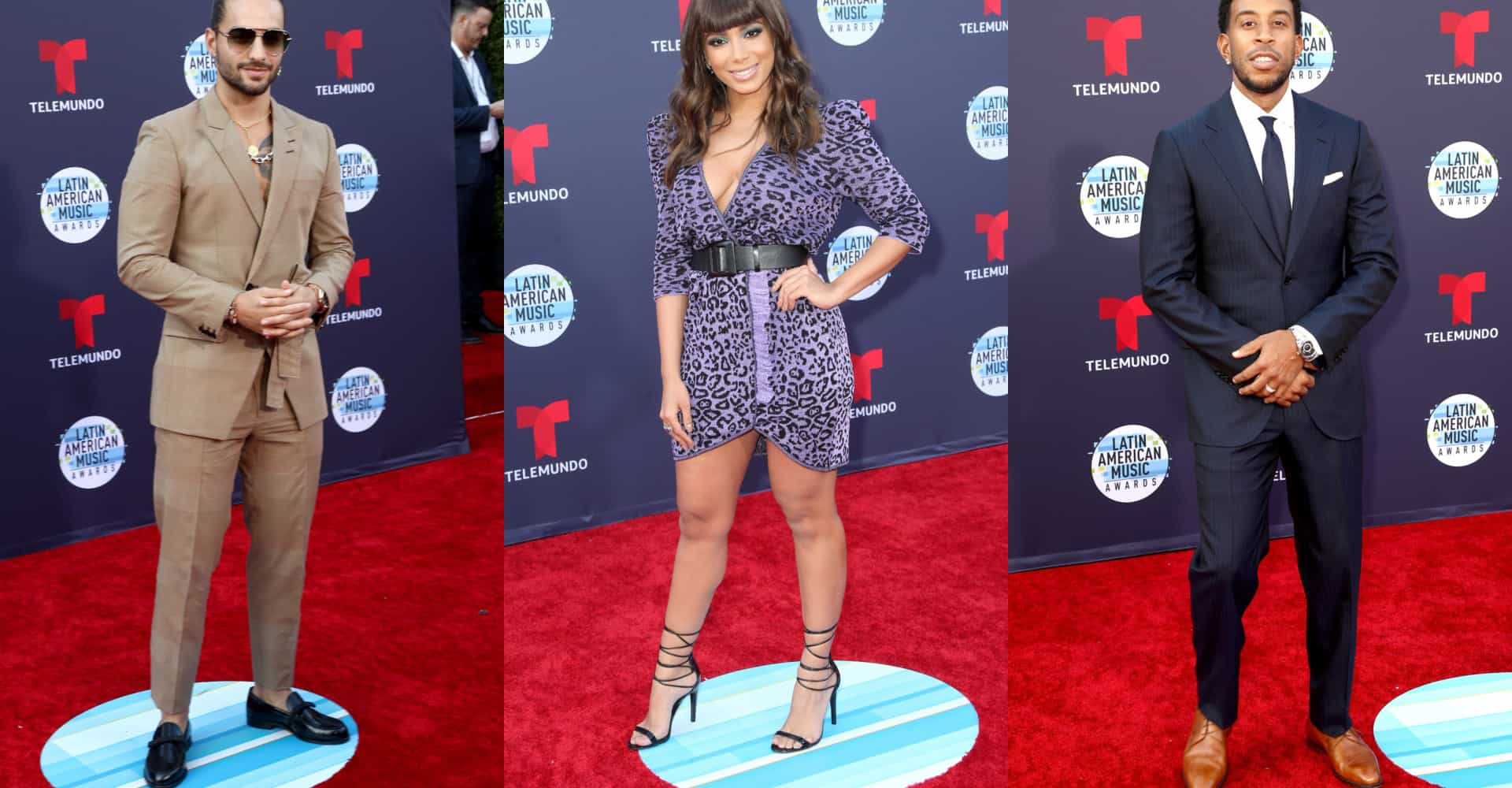 Fashion looks from the 2018 Latin American Music Awards