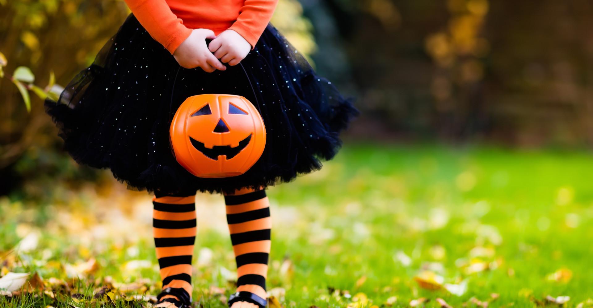 Cette fillette a le déguisement le plus flippant d'Halloween