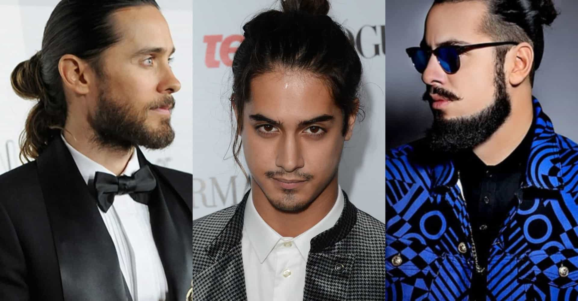 These celebs totally rock man buns