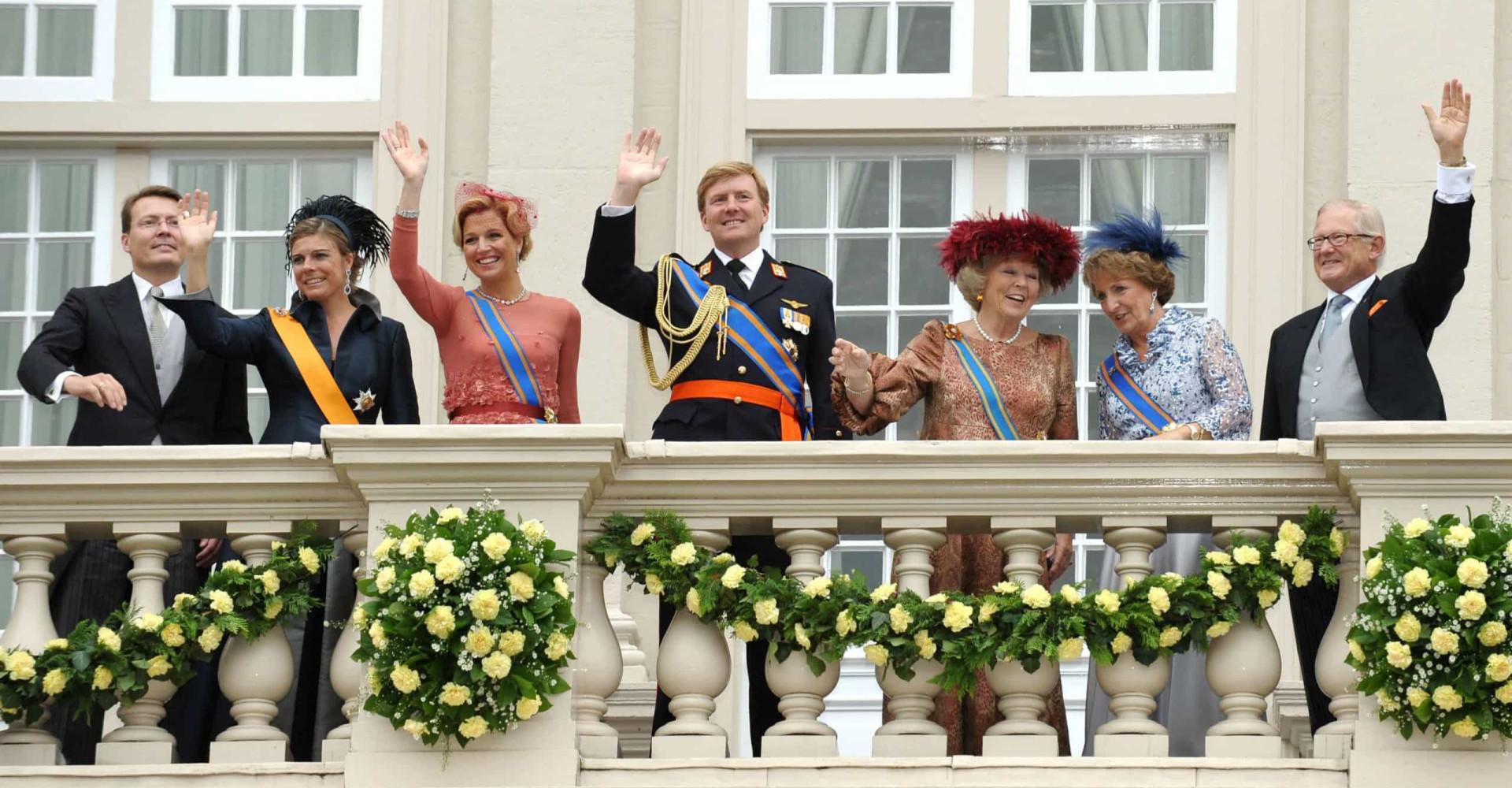 Waar wonen onze royals?