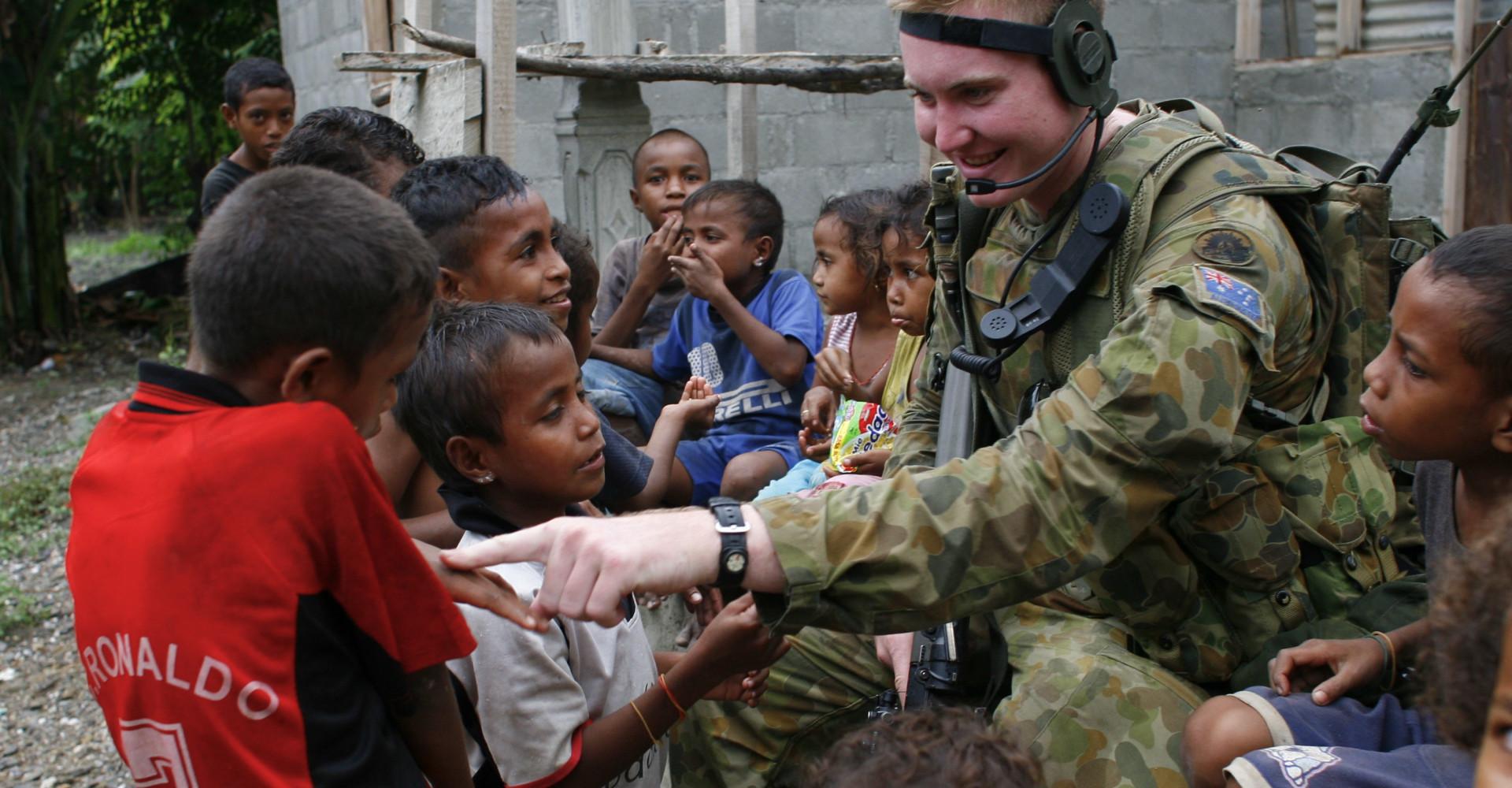 Where Aussie soldiers are deployed around the world
