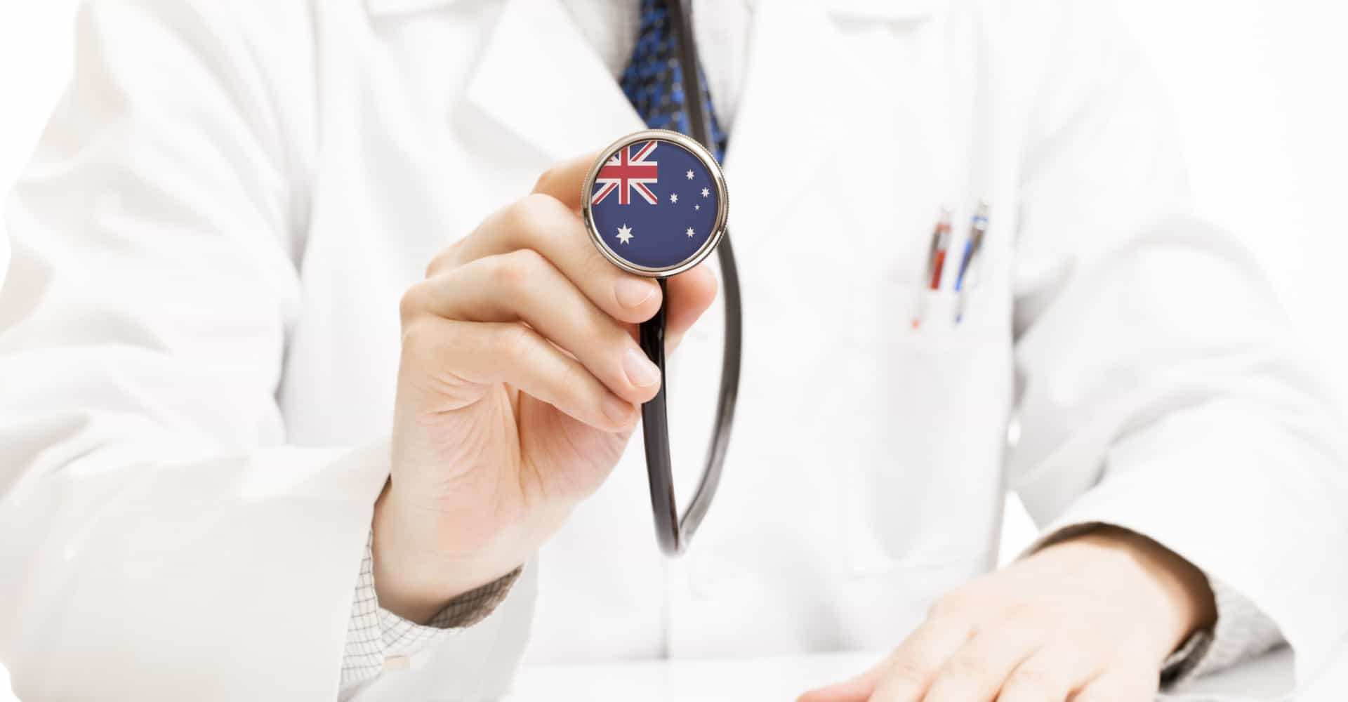 How often do Aussies go to the doctor?