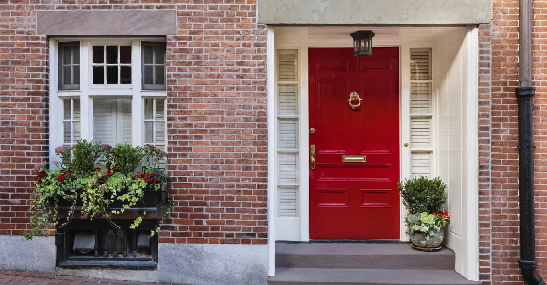 The colour of your front door could be sending the wrong message