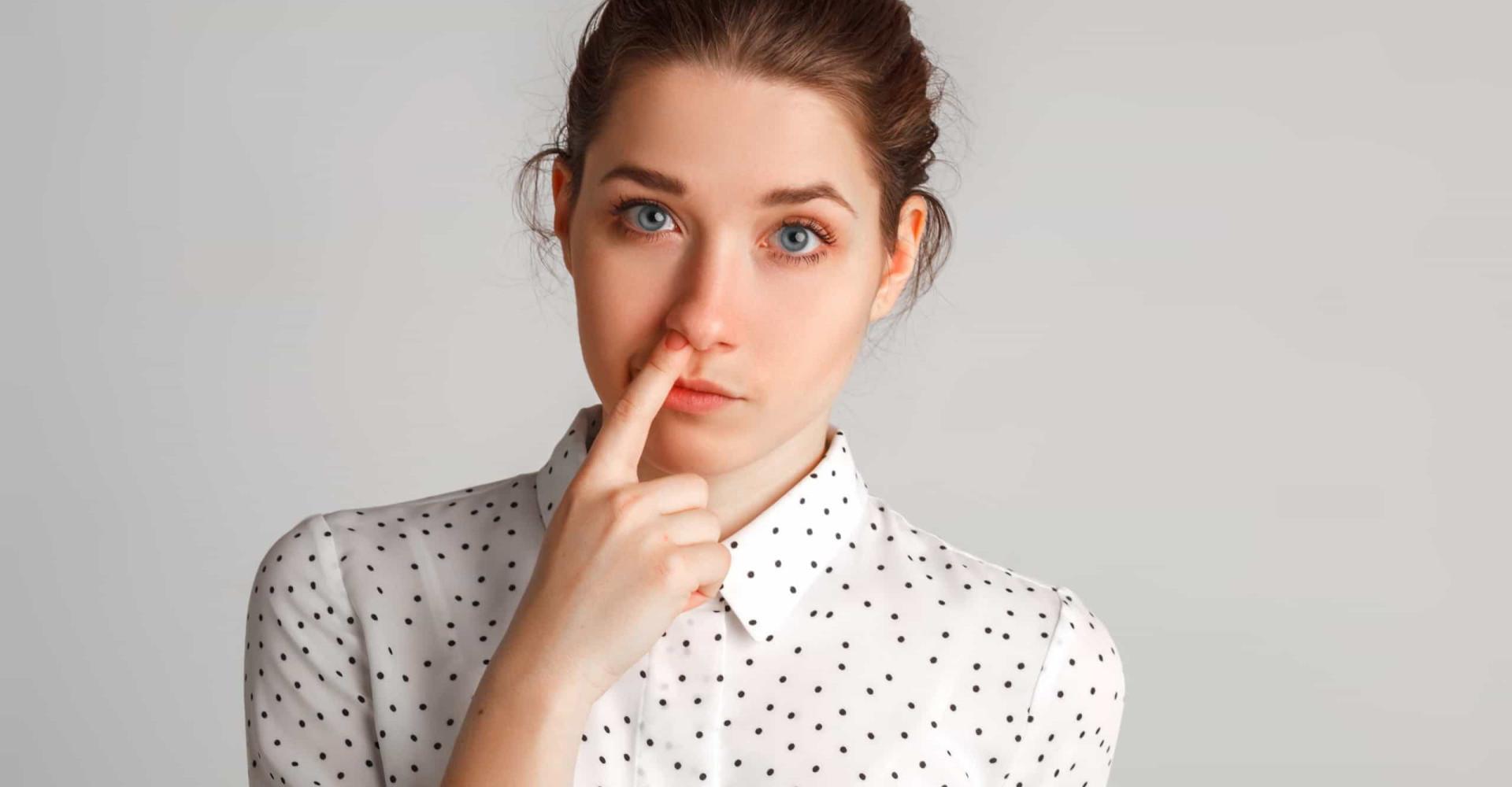 De gevaren van neuspeuteren