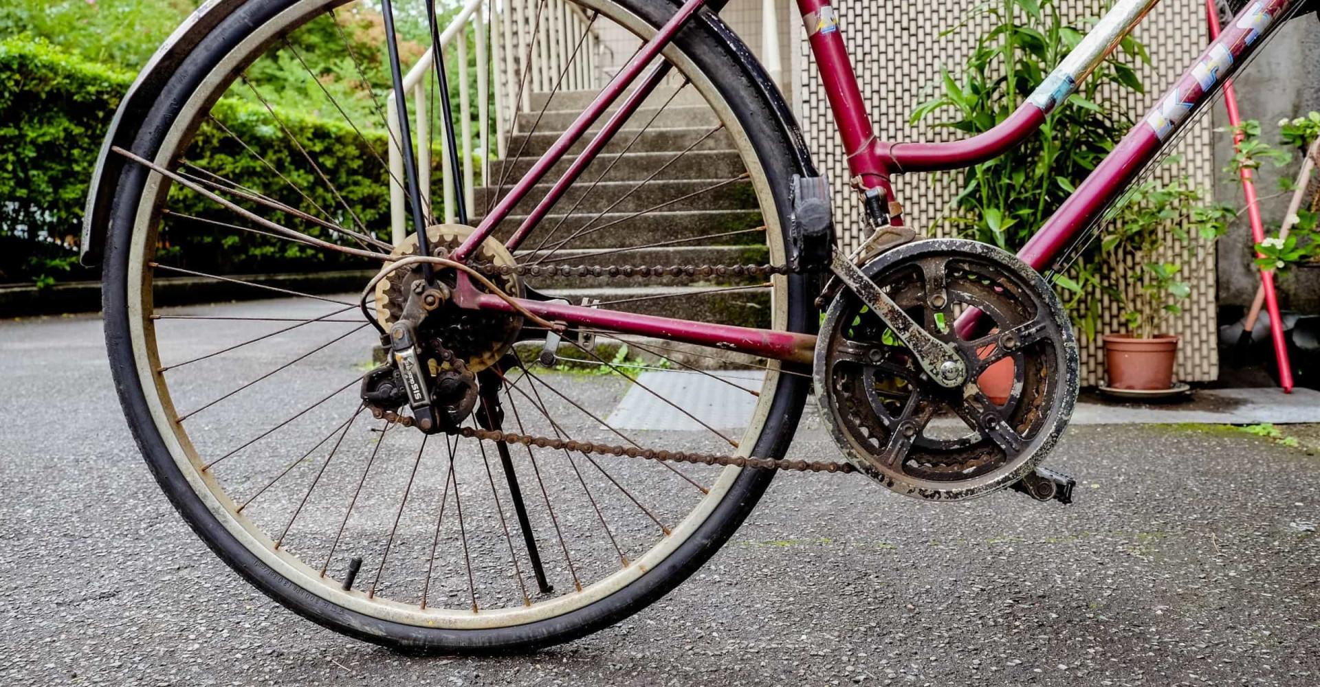 Waarom je je fiets met vaseline moet insmeren