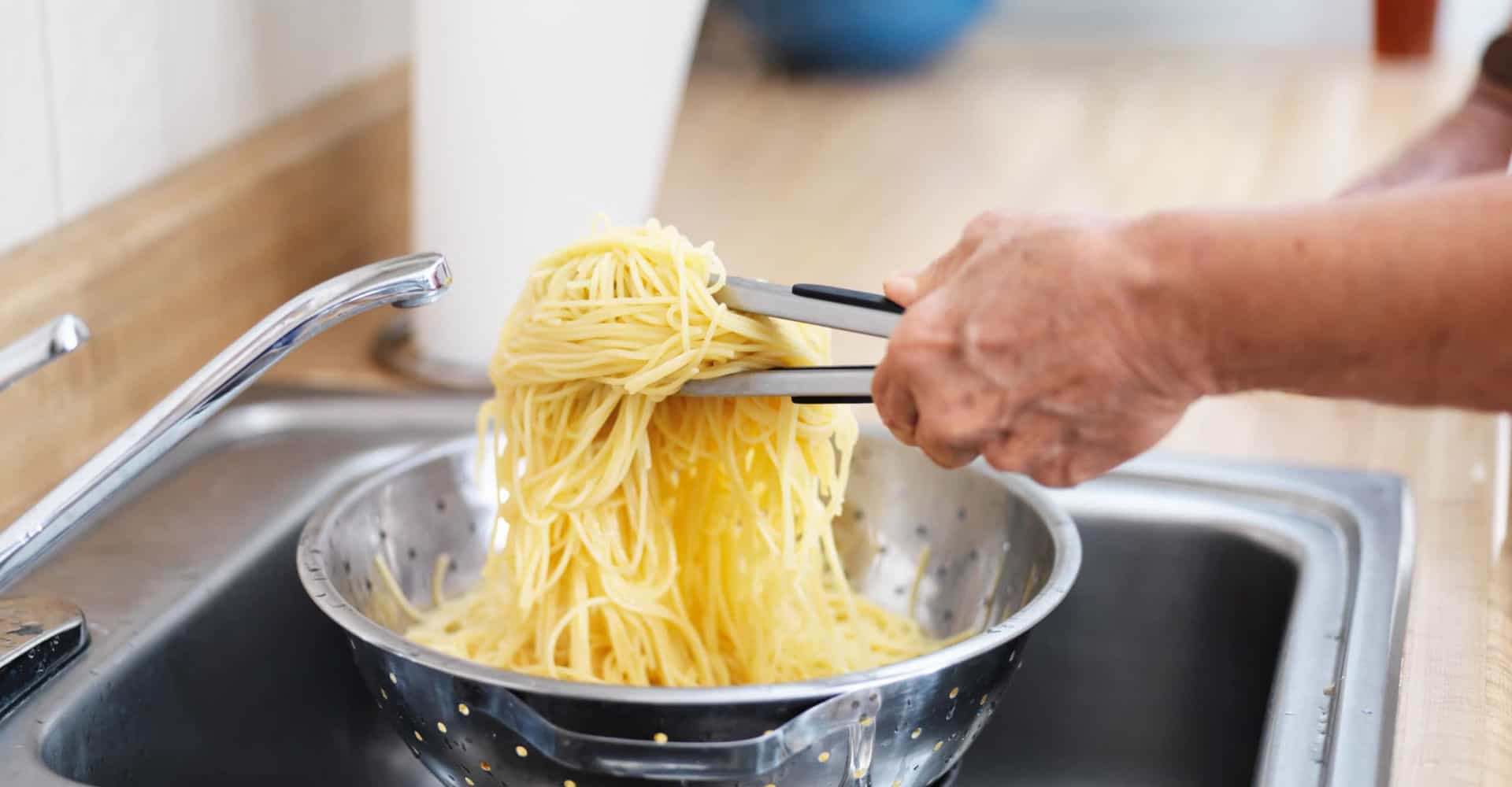 You should never drain your pasta in the sink, here's why