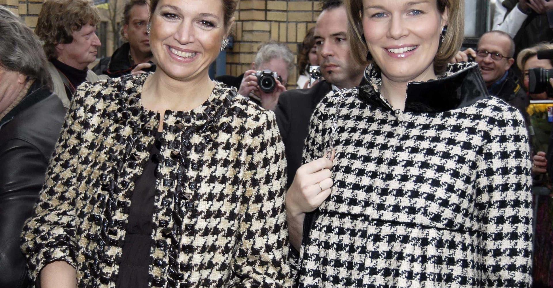 Mathilde en Máxima: geheime zussen?