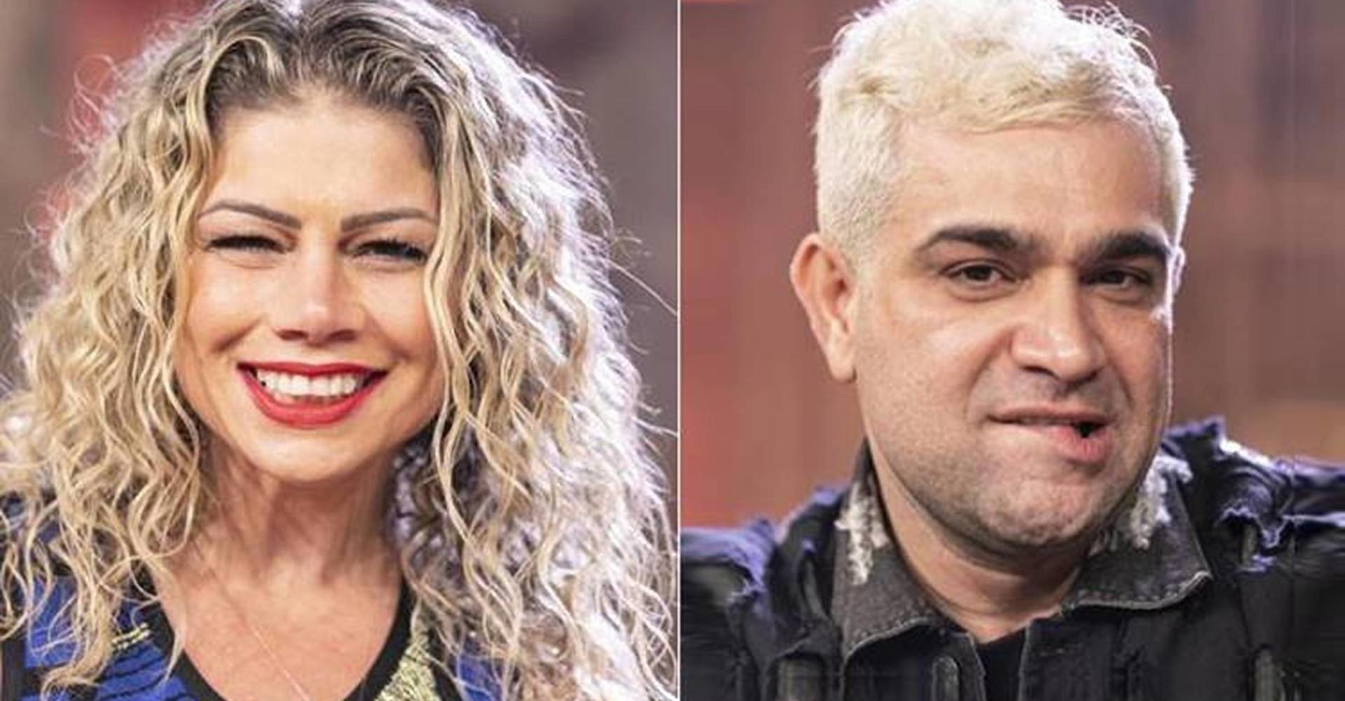 A Fazenda: RecordTV suspende votação entre Catia e Evandro