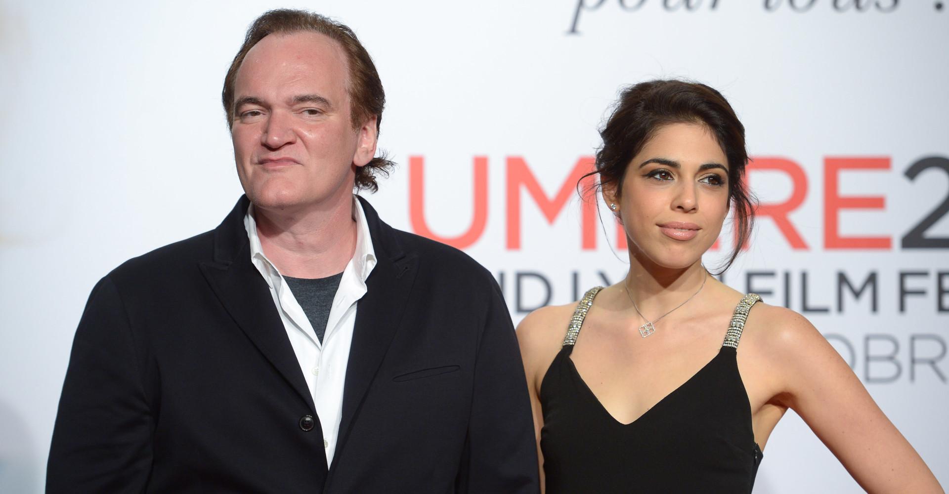 Chi è la nuova (e prima) moglie di Quentin Tarantino?
