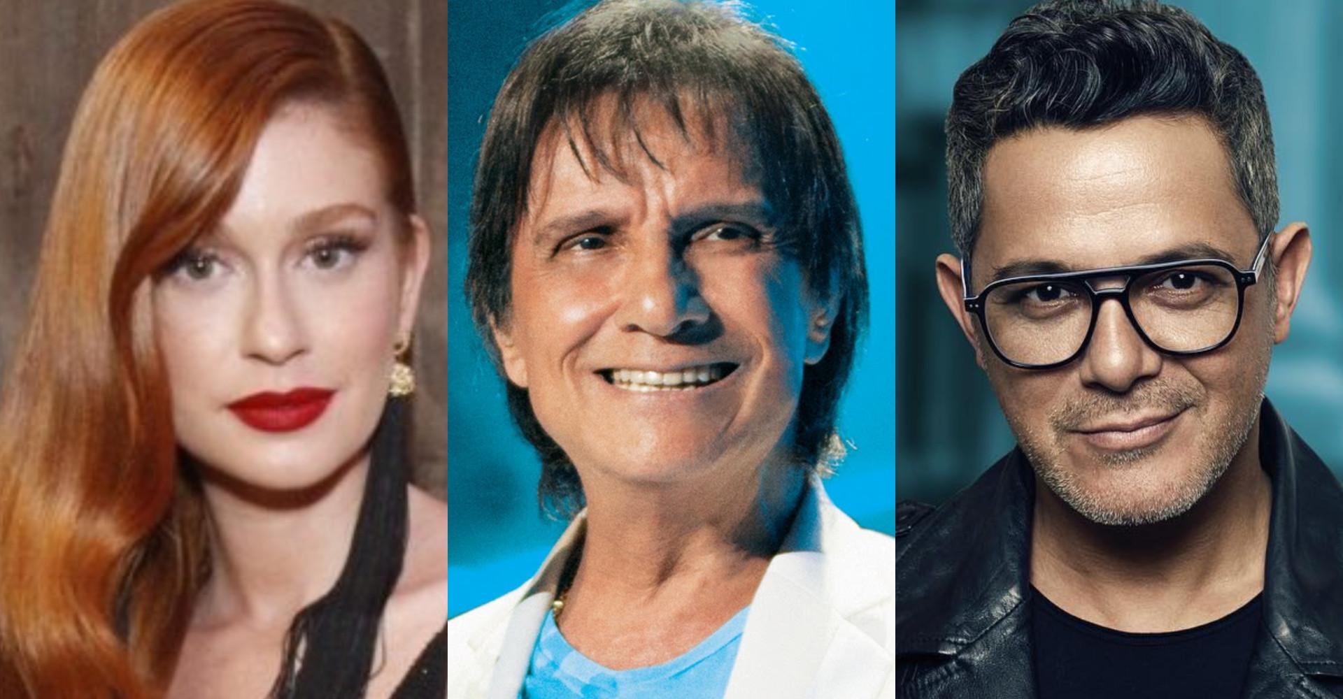 Globo escala Marina Ruy Barbosa e Alejandro Sanz para 'Especial Roberto Carlos'