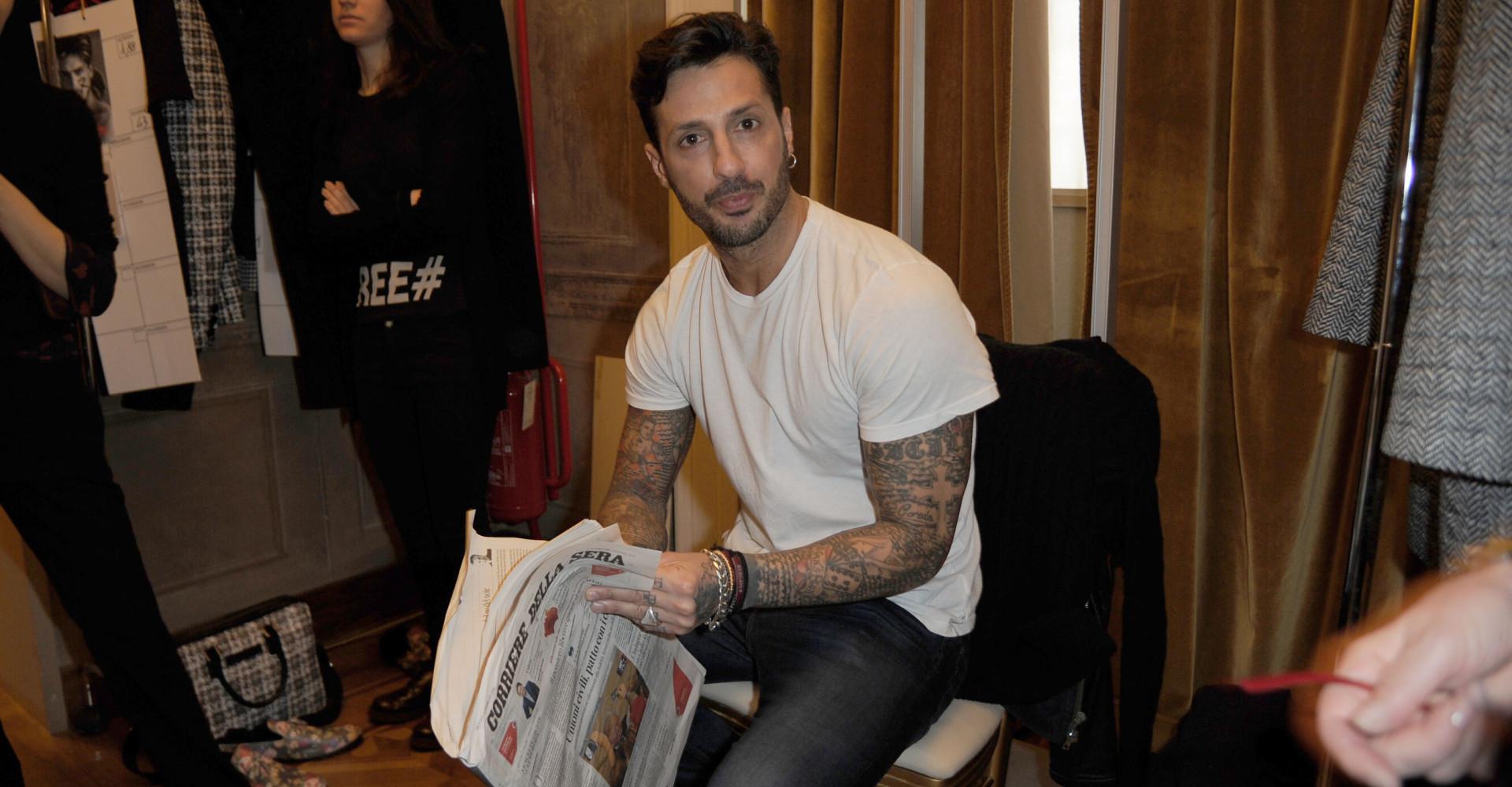 La strana rassegna stampa di Fabrizio Corona